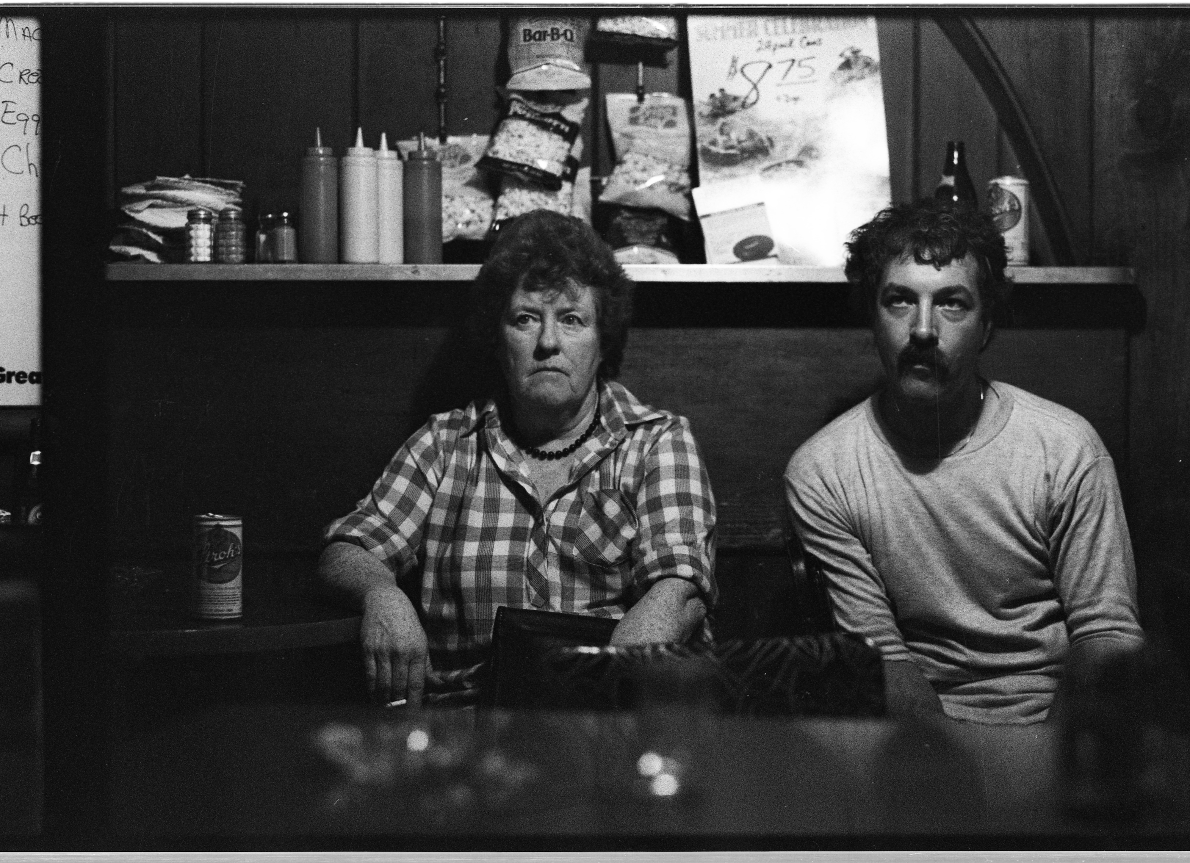Customers Contemplate Stadium Tavern Closing Down, September 1985 image