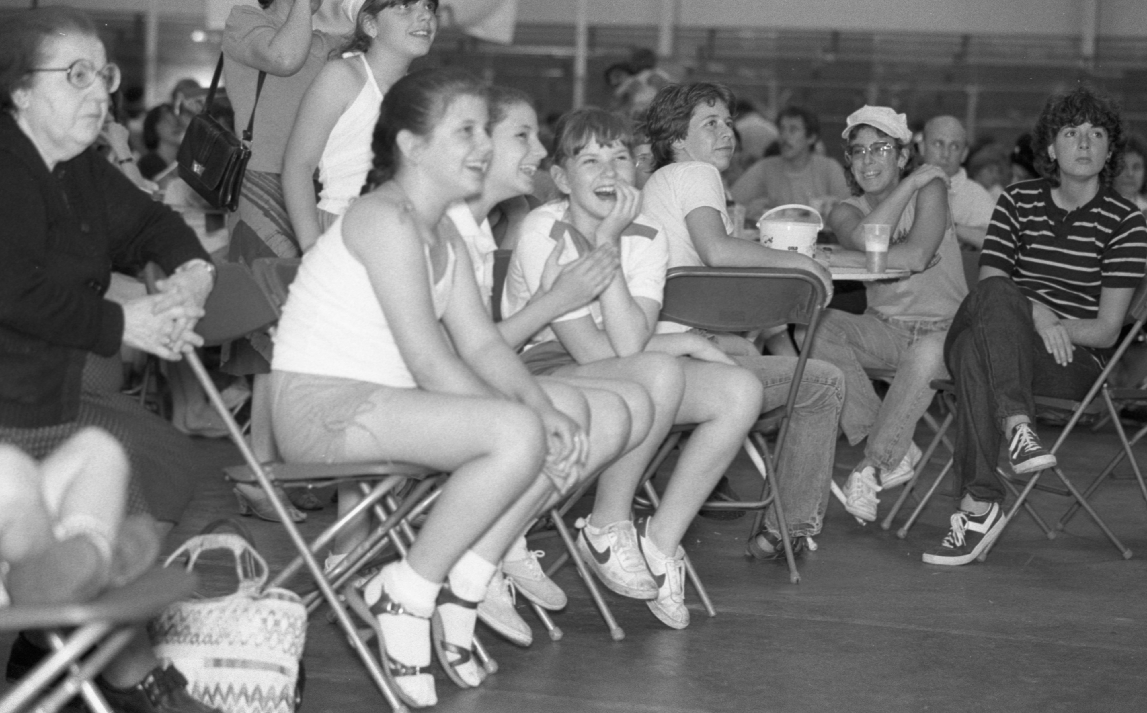 A Crowd Watches The St. Nicholas Dancers Perform At The Ya'ssoo Greek Festival, June 1984 image
