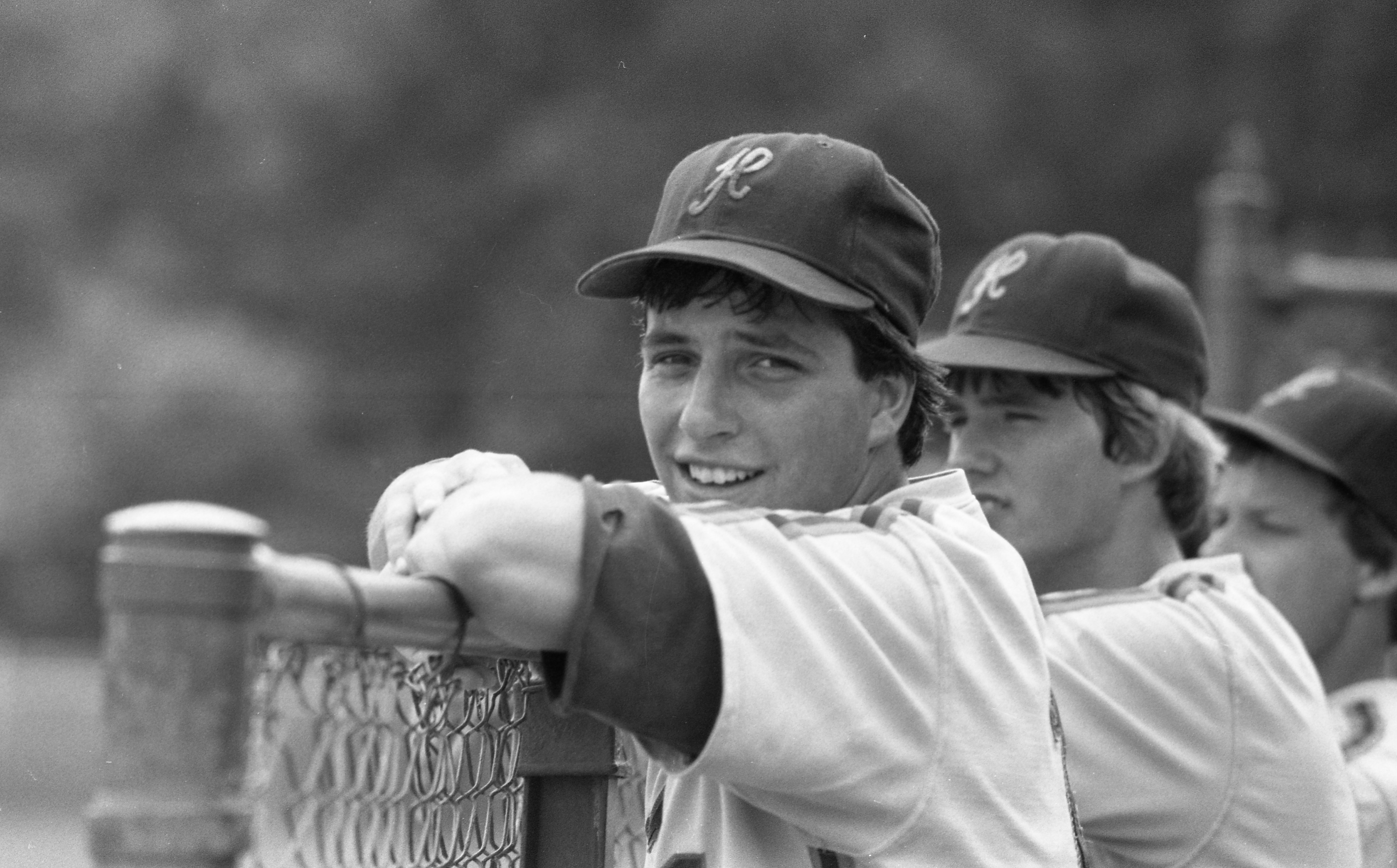 David Margolis Relaxes After Scoring For The Huron High School Baseball Team, June 1984 image