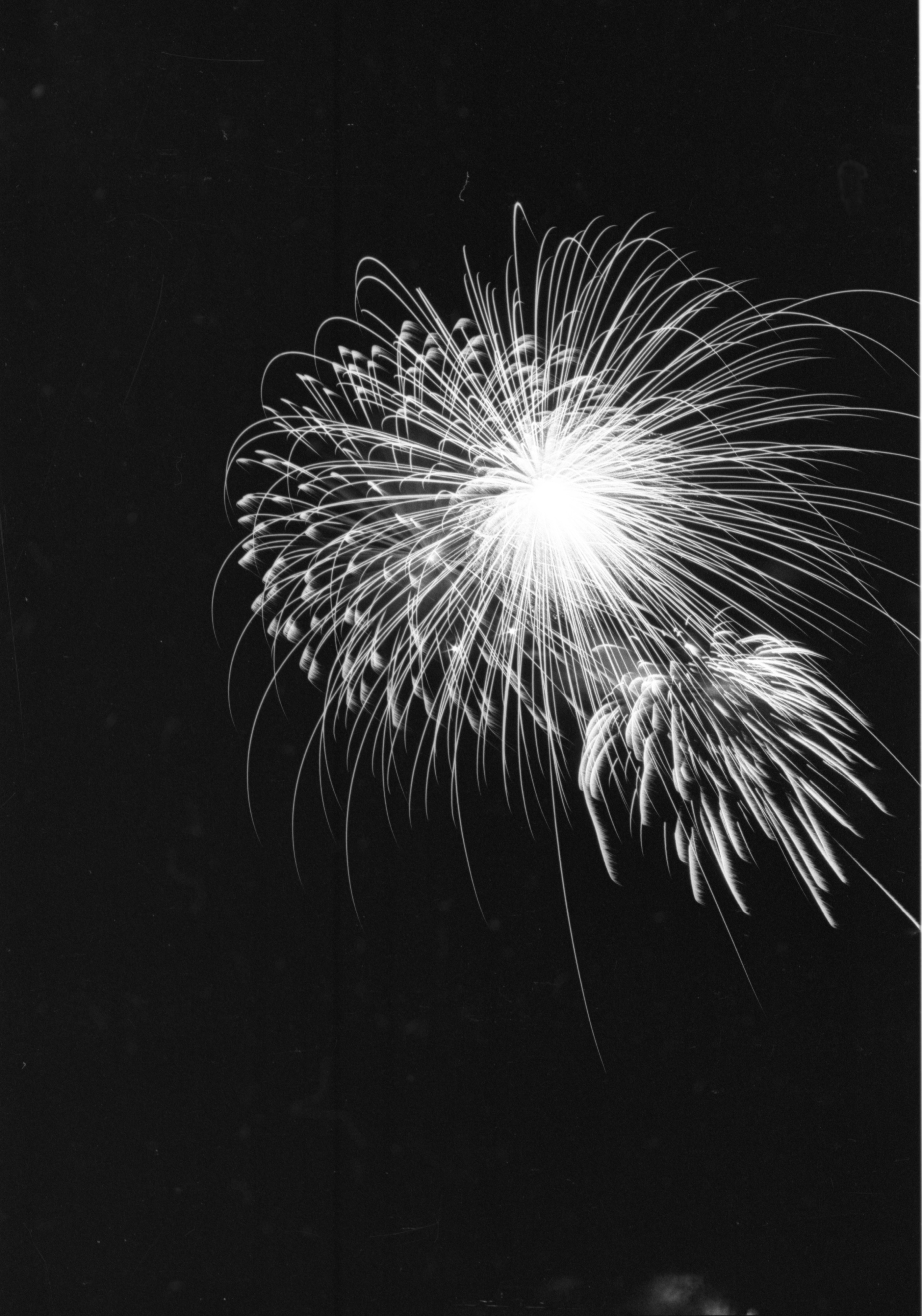 Ann Arbor Jaycees Annual Fireworks Show At The Ann Arbor Airport, June 1984 image