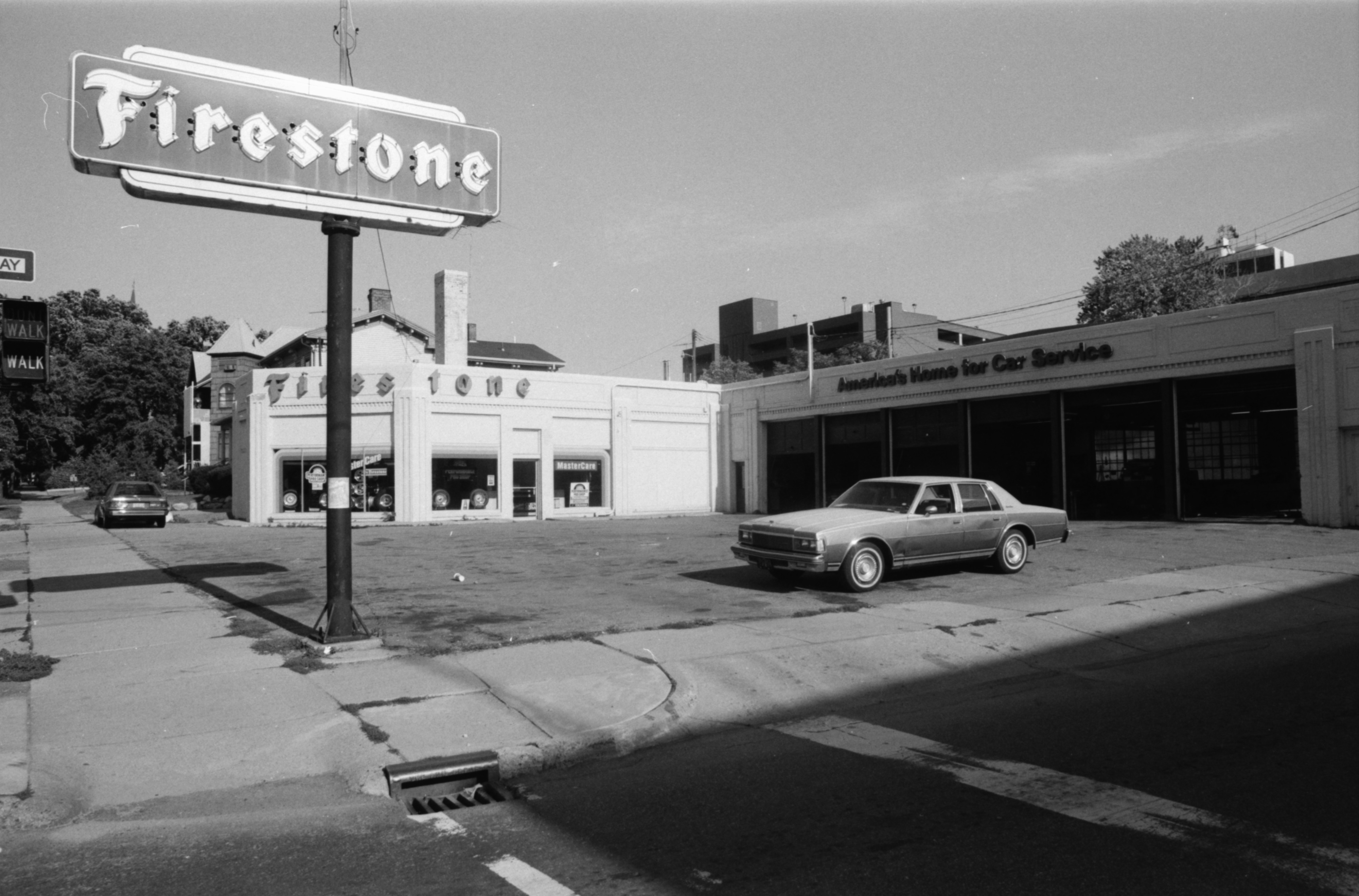Firestone Station, August 1988 image
