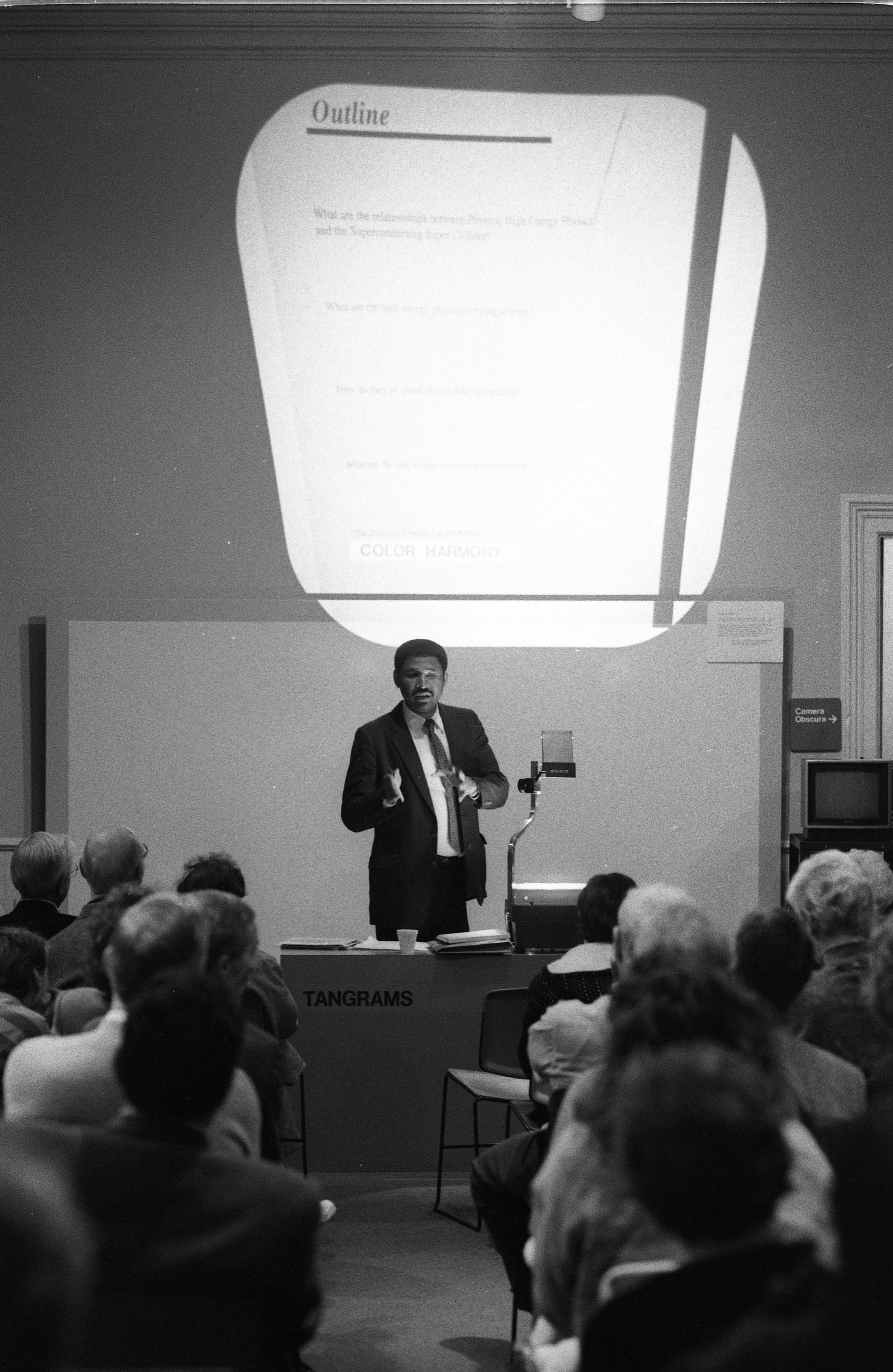 Homer Neal Speaking Engagement At Ann Arbor Hands-On Museum, October 1988 image