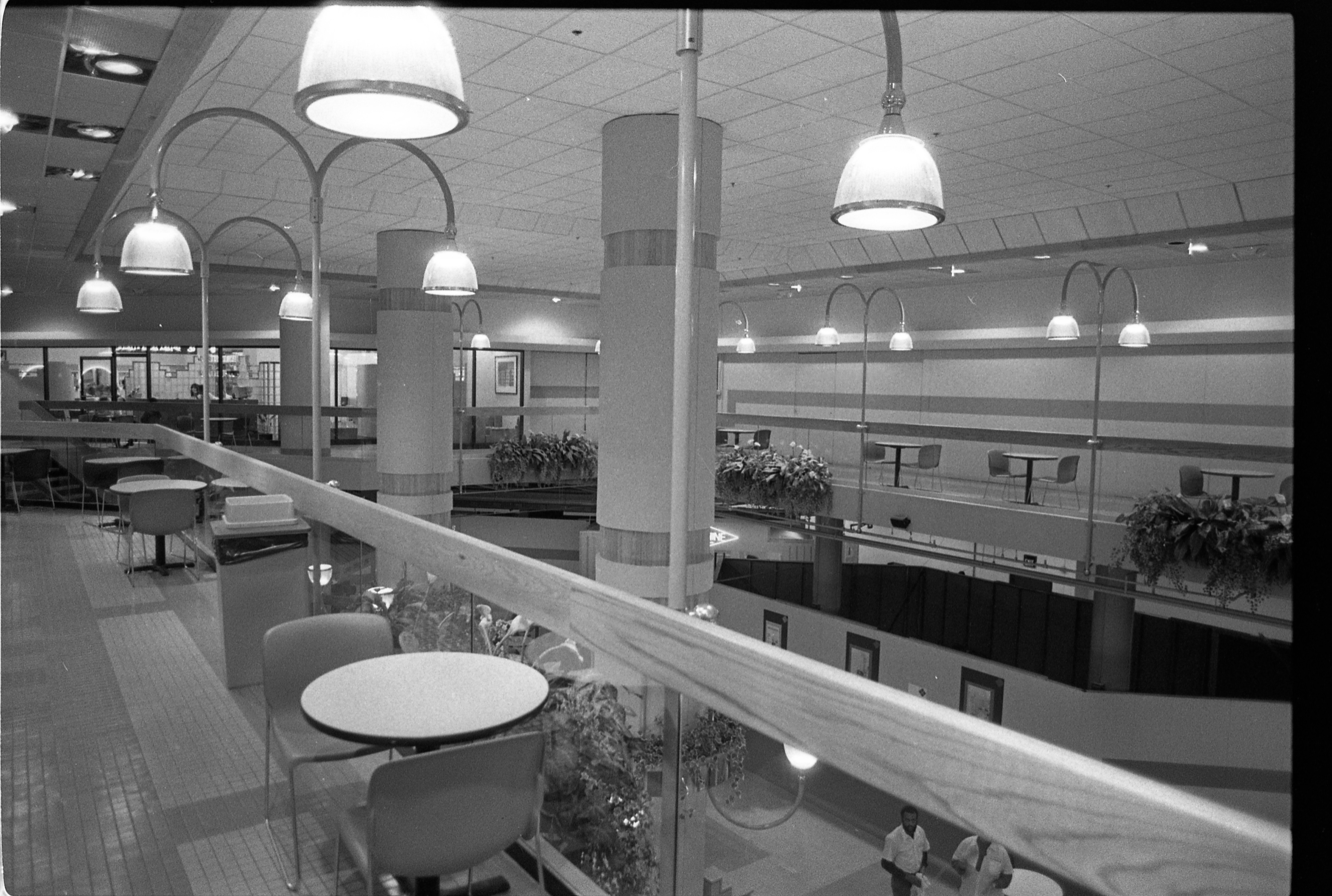 2nd Floor Of Liberty Square Mall, December 1987 image