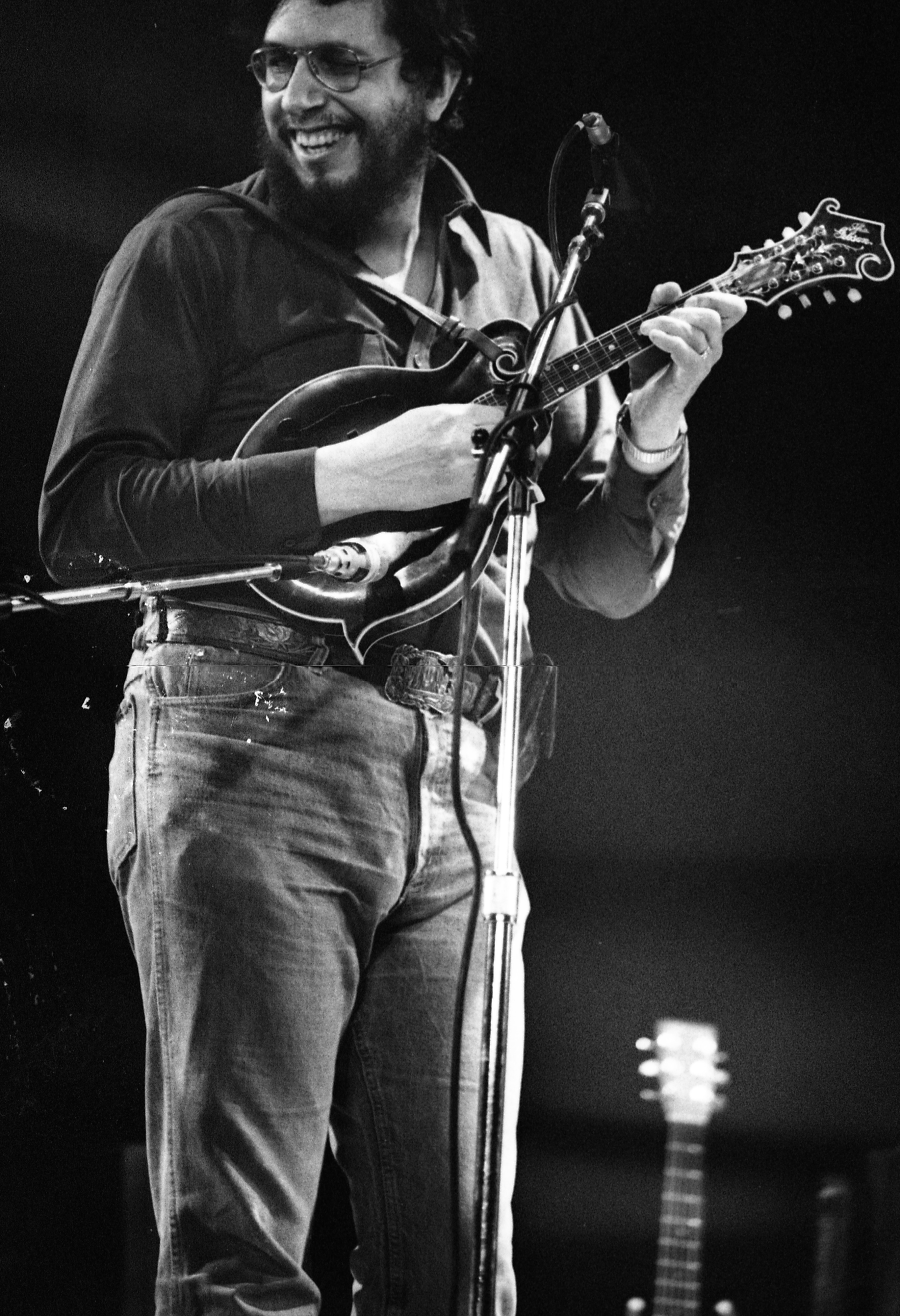 David Bromberg at the 5th Annual Ann Arbor Folk Festival, January 1982 image