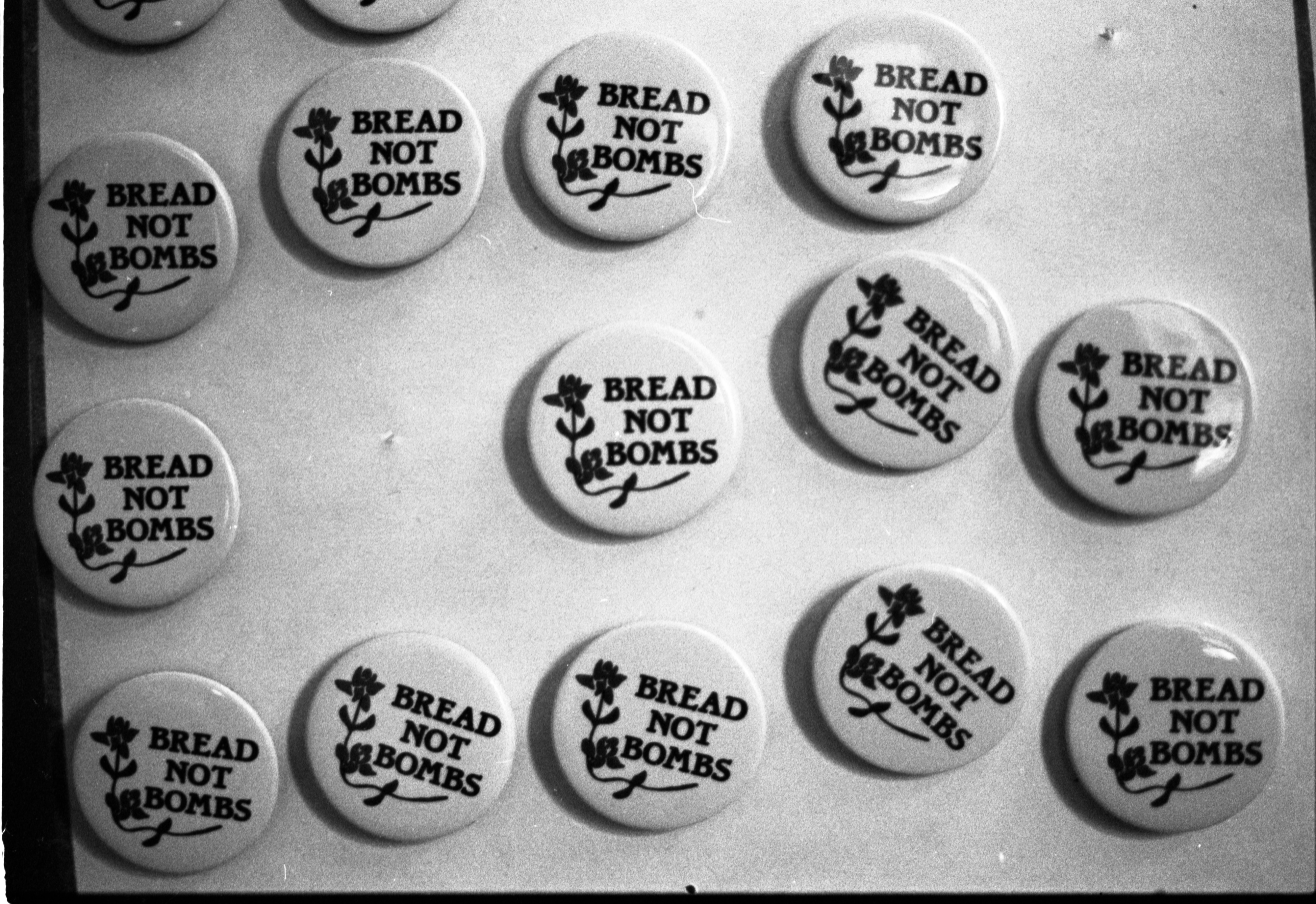Buttons For Sale At The People's Food Co-Op, October 14, 1982 image