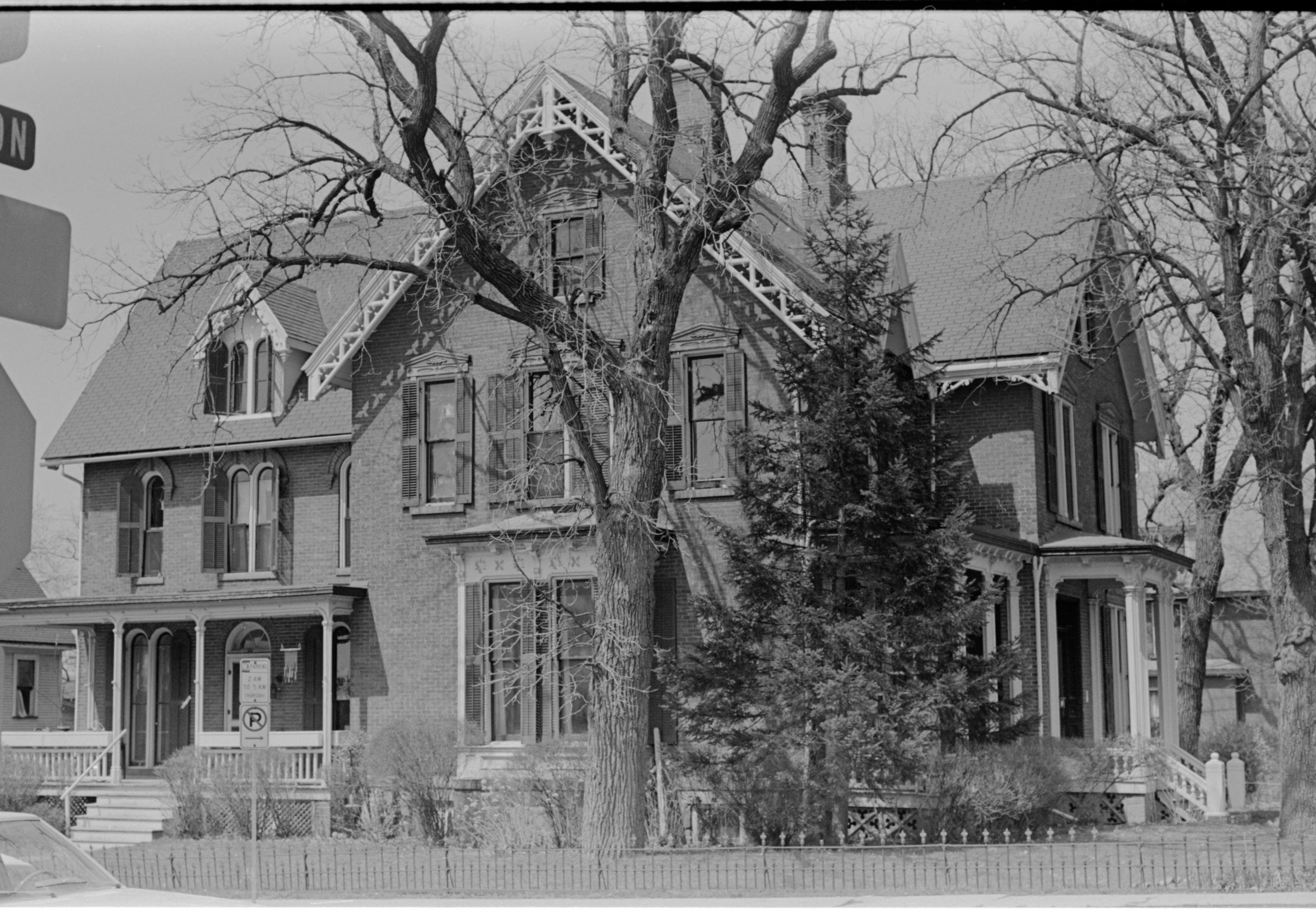 Historic Palmer-Ryan House, 205 N Division, April 1979 image