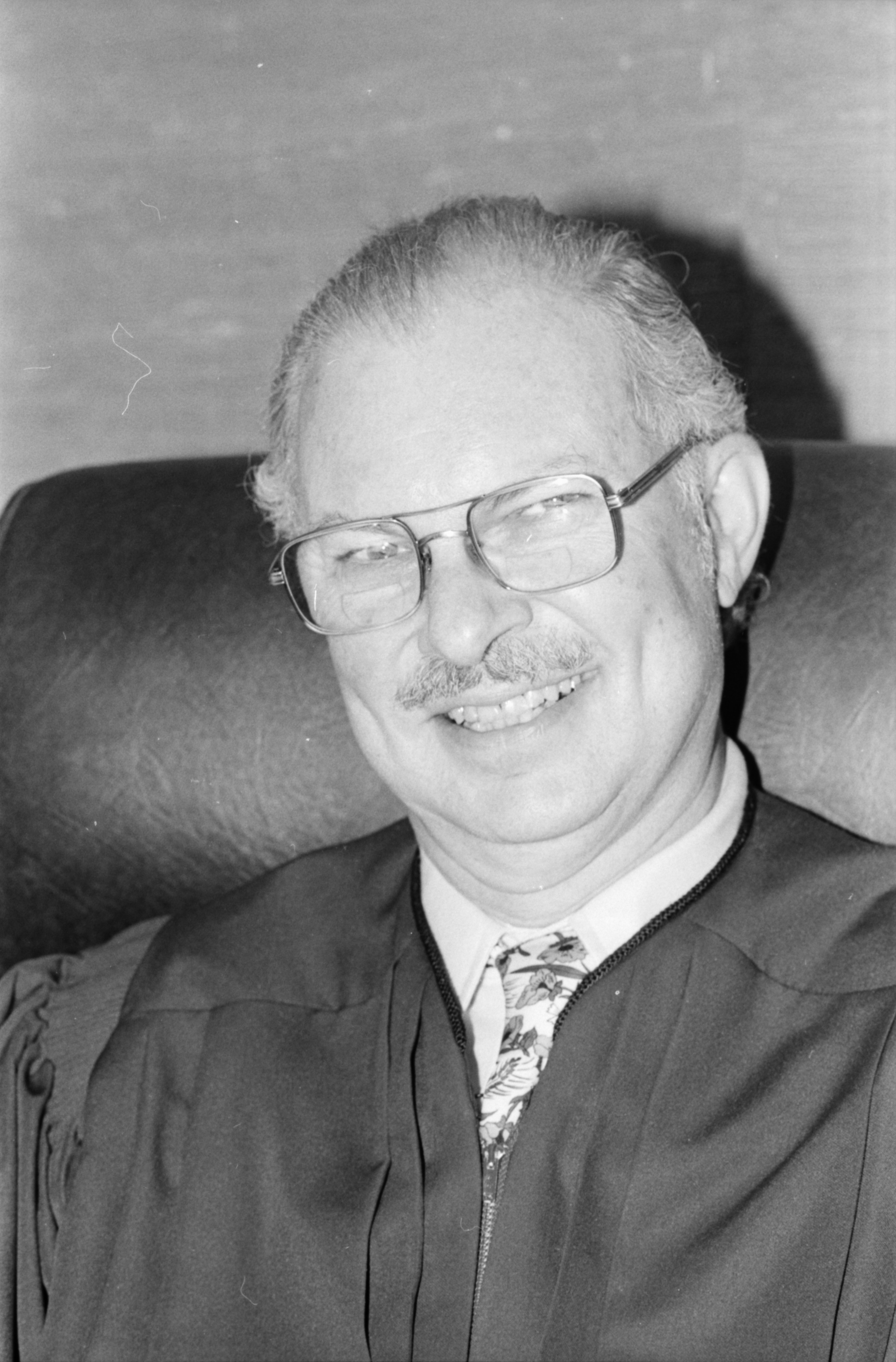 Head Shot of Judge Elden, June 1979 image
