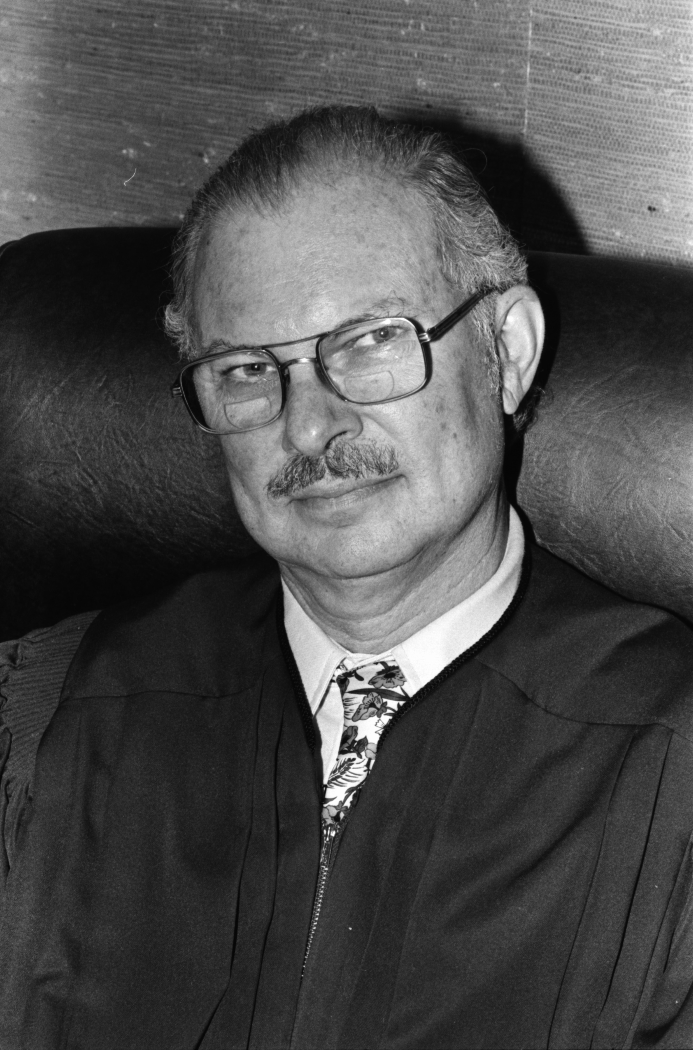 Head Shot of Judge S. J. Elden, June 1979 image