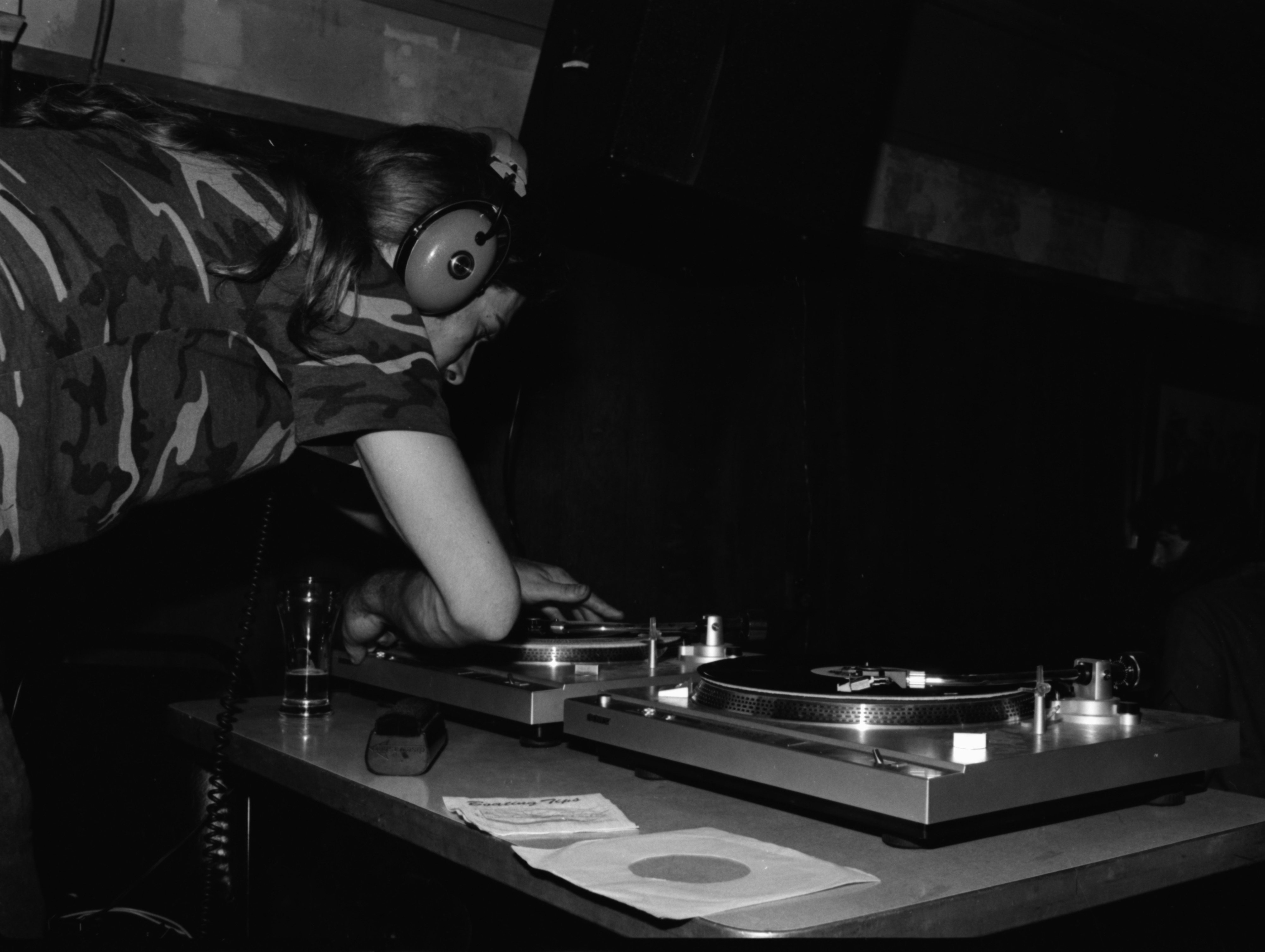DJ Performing At The Star Bar, May 1981 image