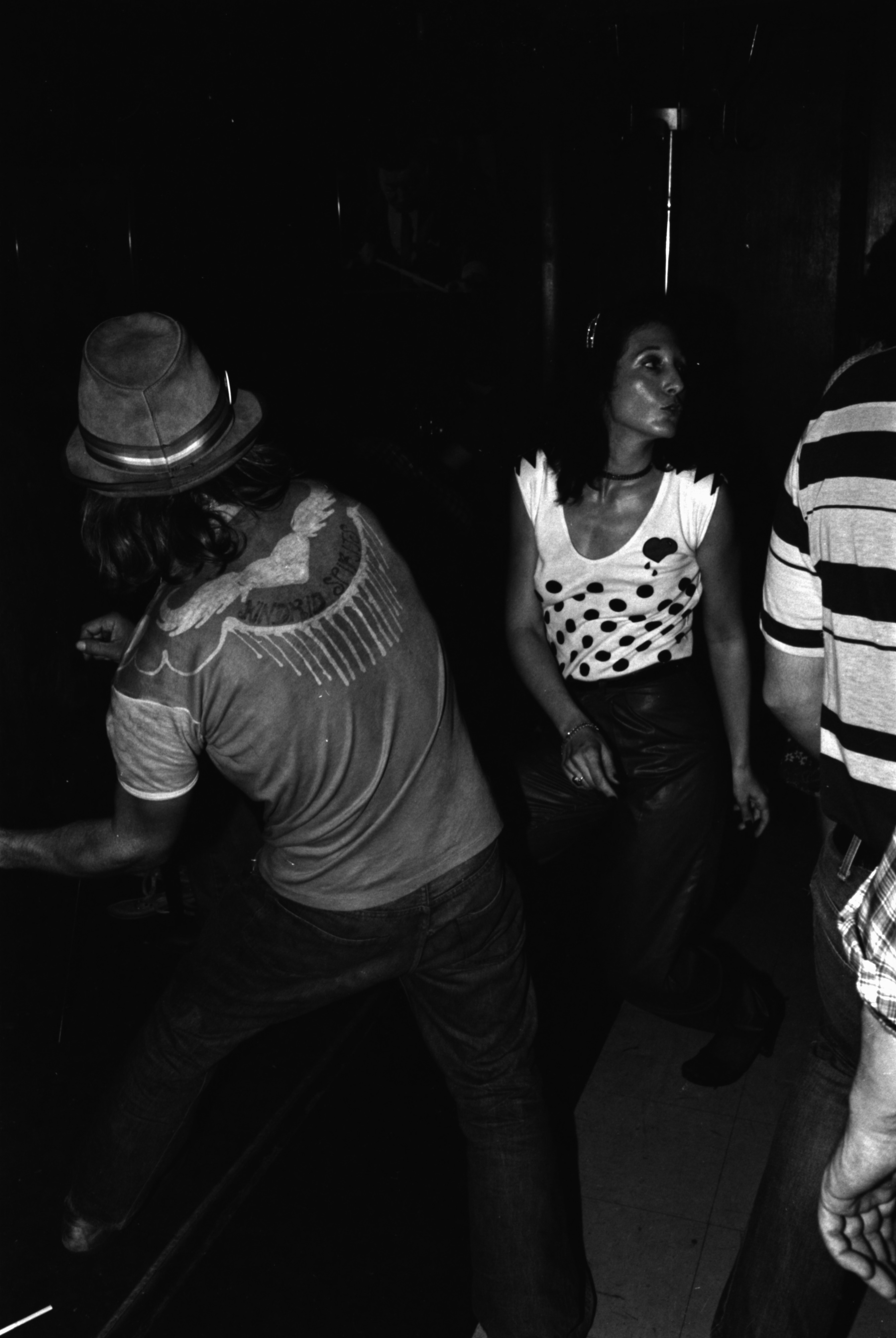 Reggae Dancing At The Star Bar, May 1981 image