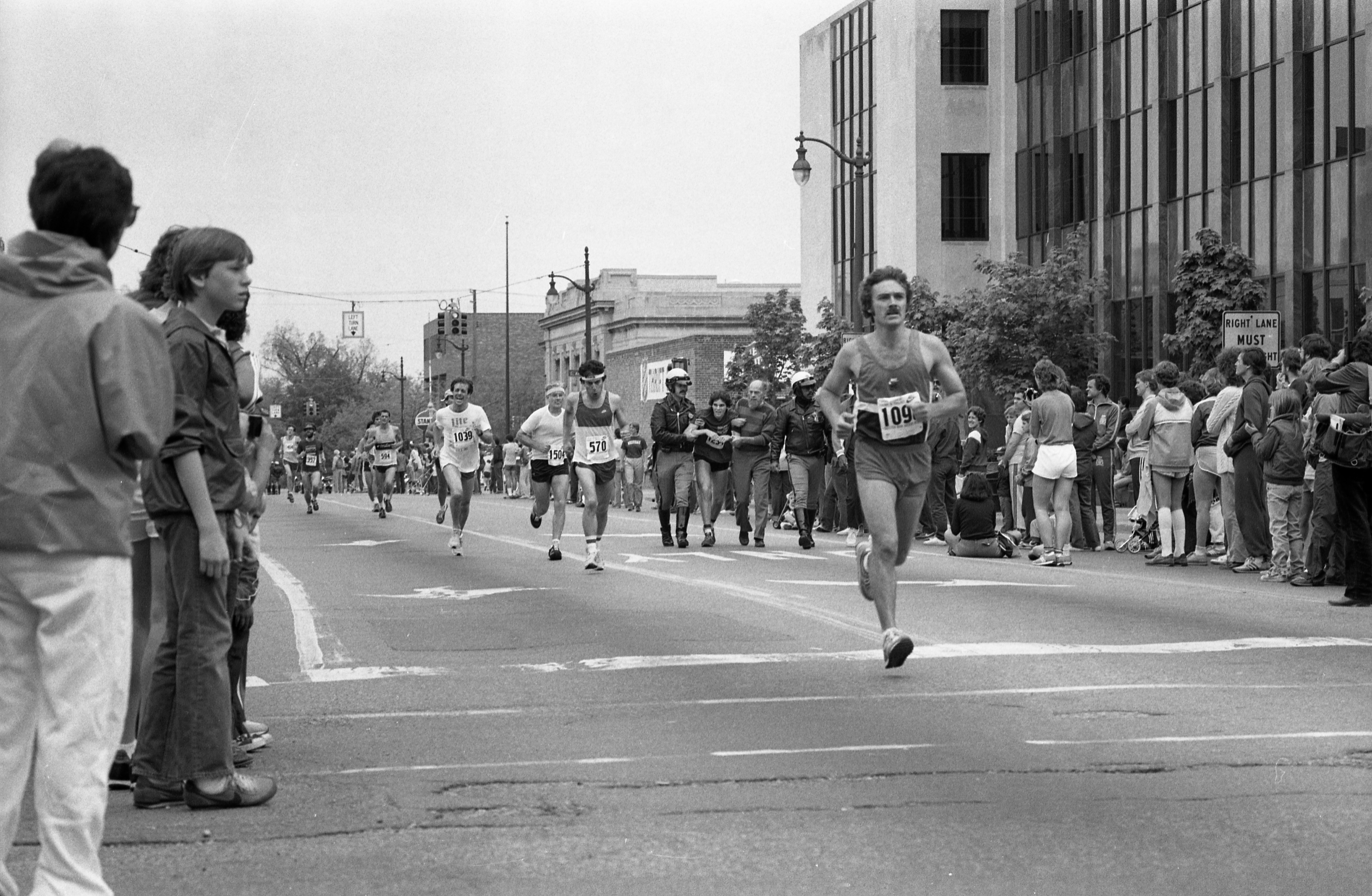 Runners In The Dexter-Ann Arbor Run, May 29, 1983 image