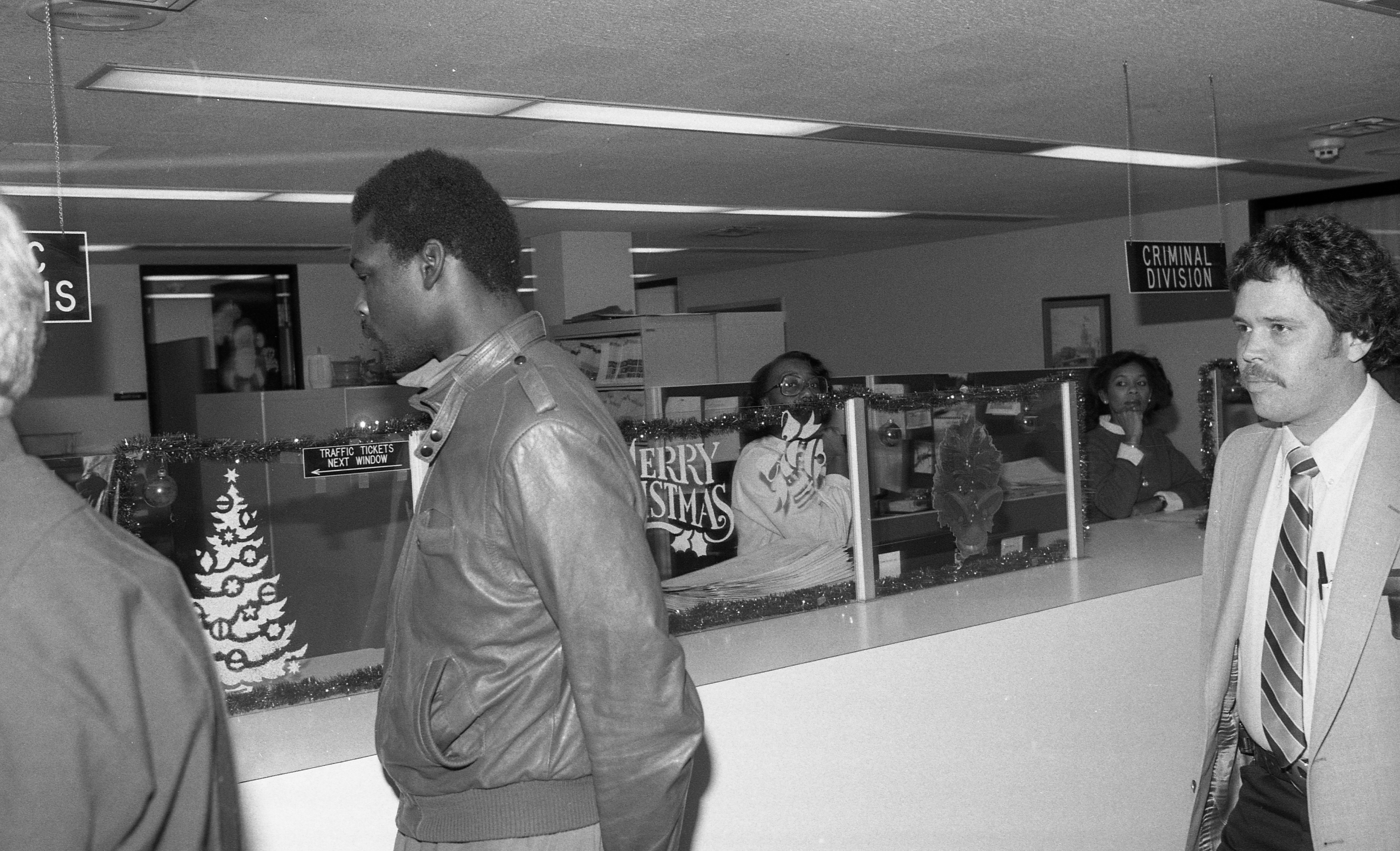 Suspect Robert Lee Williams Arraigned In 15th District Court In Brian Canter Homicide, December 1983 image