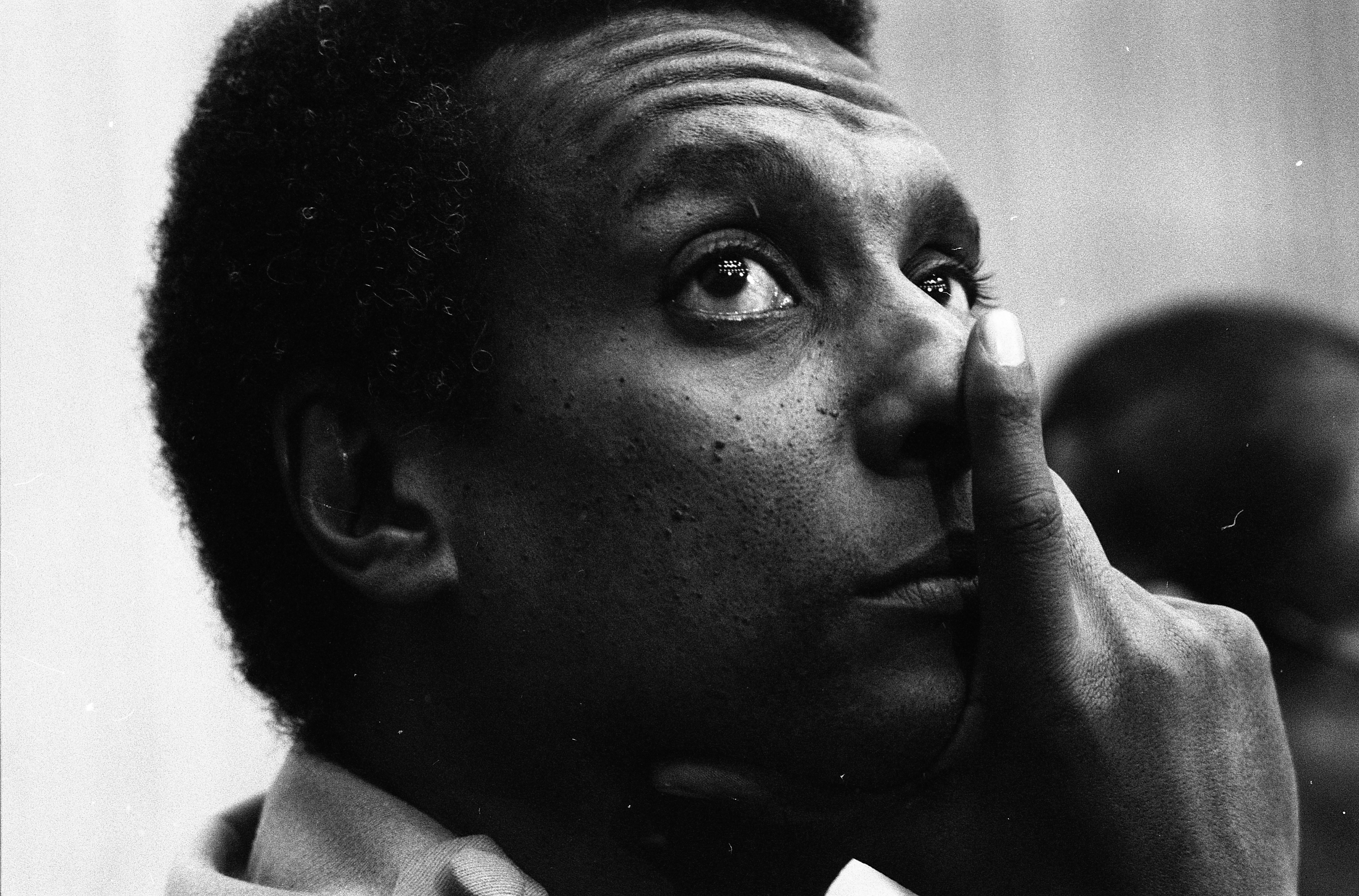 Stokely Carmichael At Hale Auditorium For Conference Honoring Black History Month, February 13, 1983 image