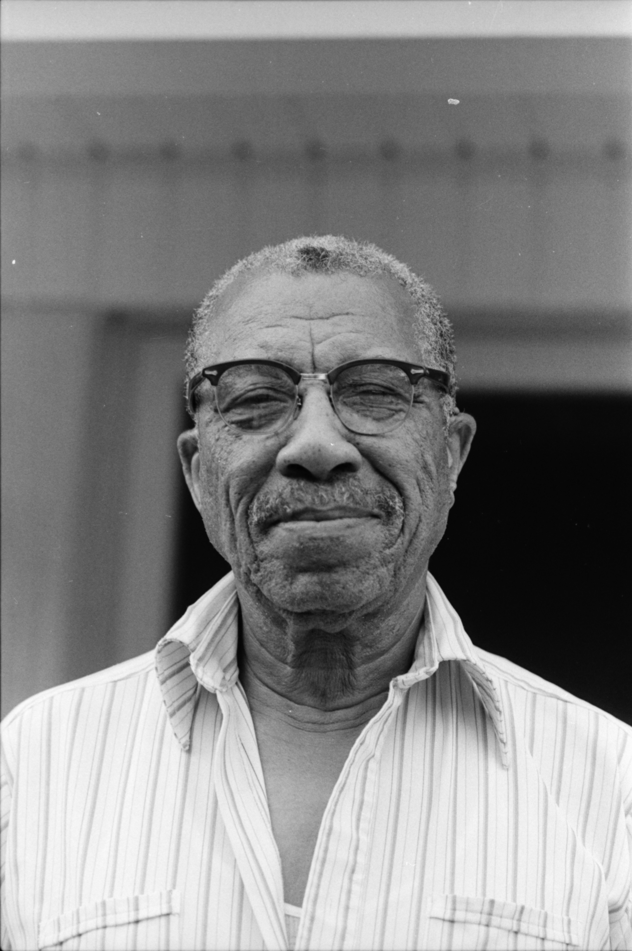Close Up of Ypsilanti Historian A.P. Marshall, July 1987 image
