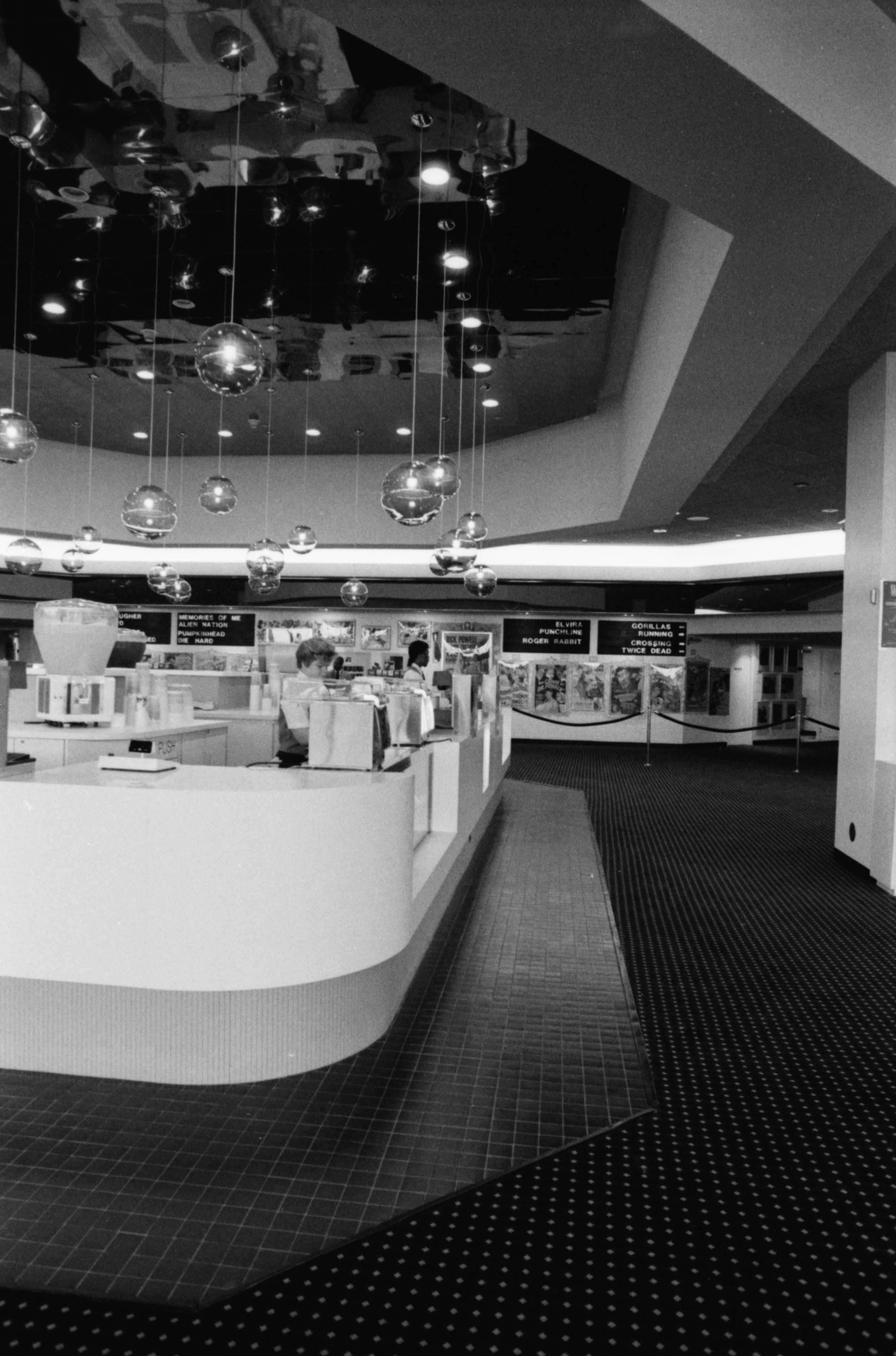 Showcase Cinemas Concession Stand, October 1988 image