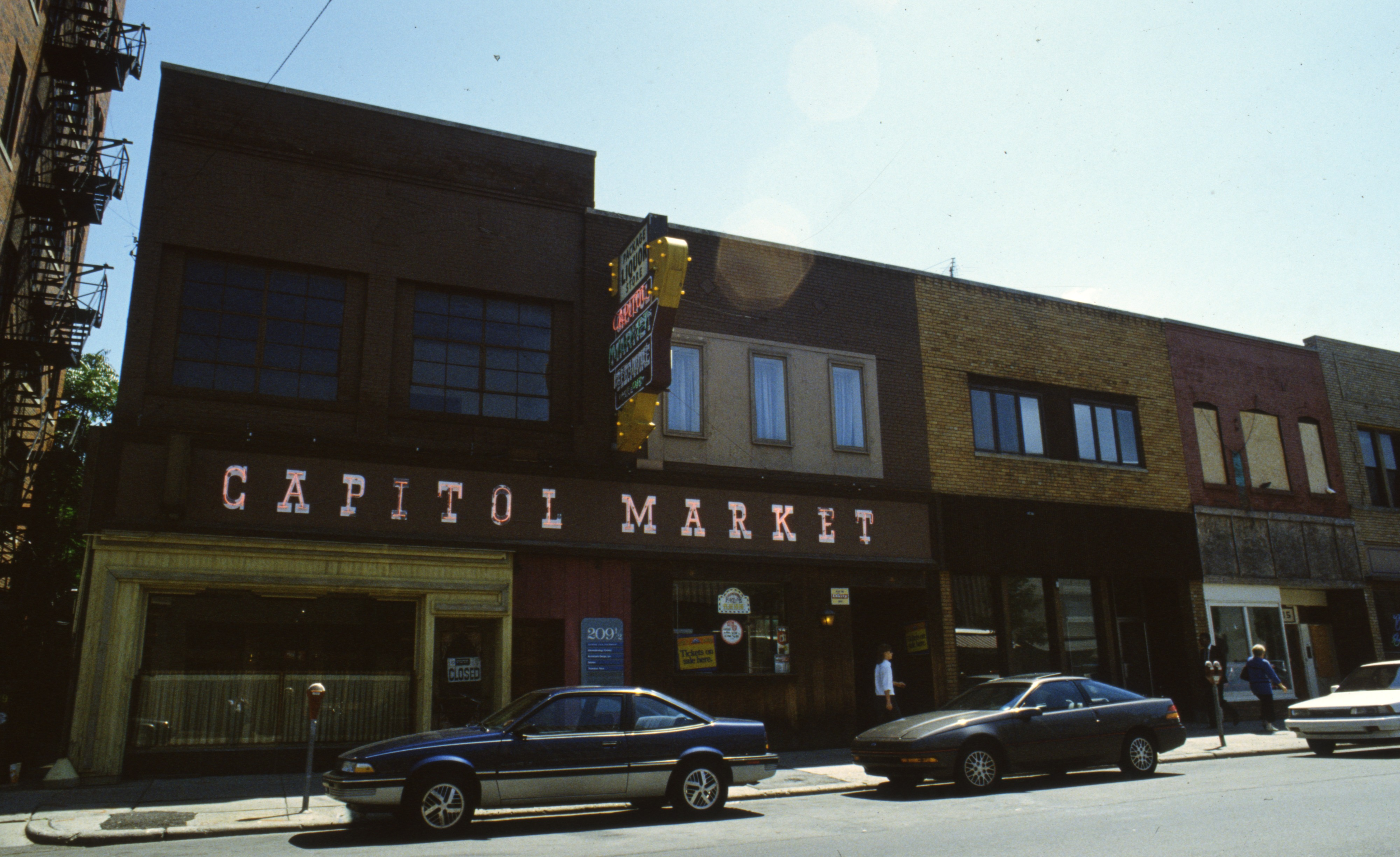 Capitol Market A Bright Spot On Fourth Avenue, August 1989 image