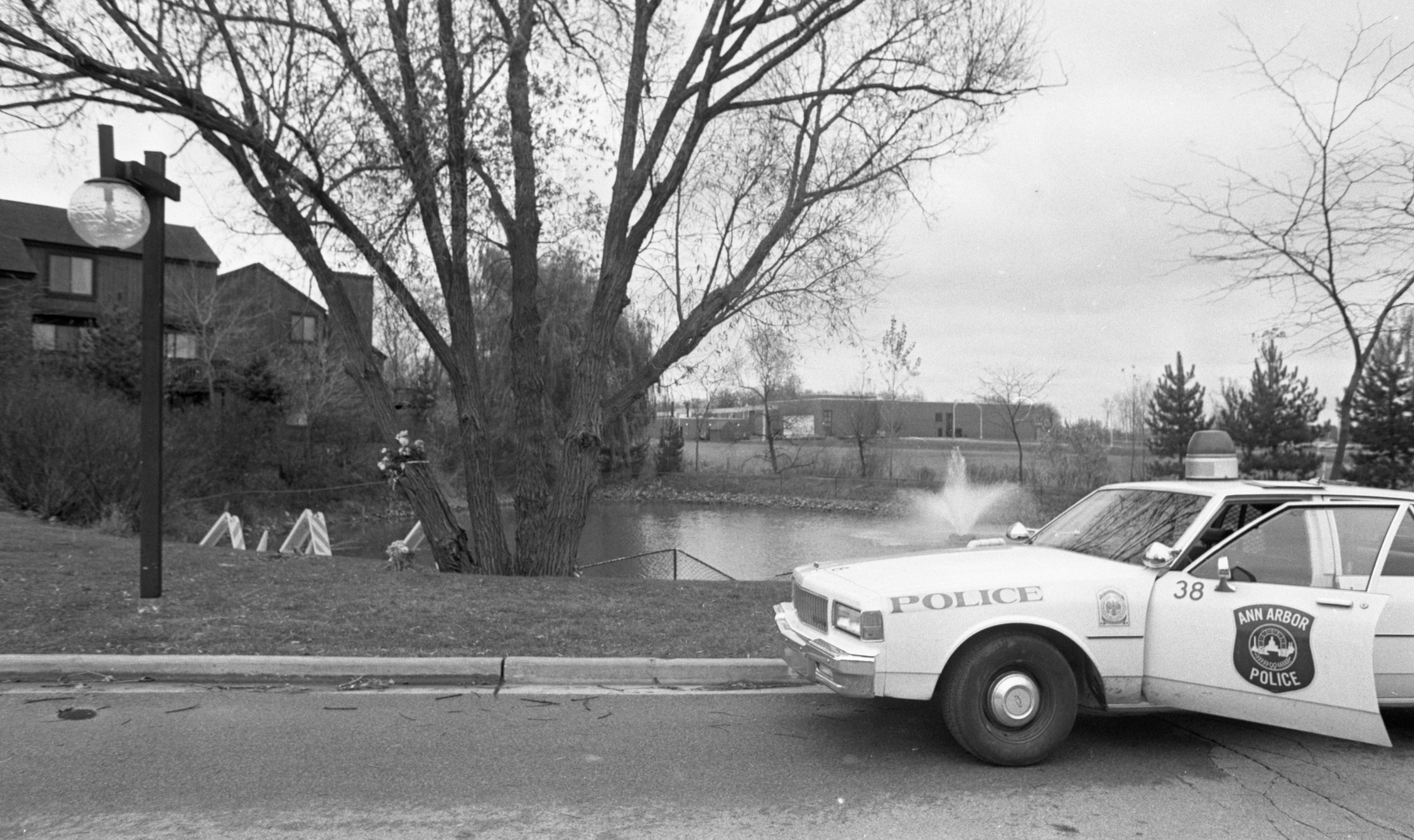 Accident Site at Northbury Condominiums Where Two Teens Drowned, November 1989 image