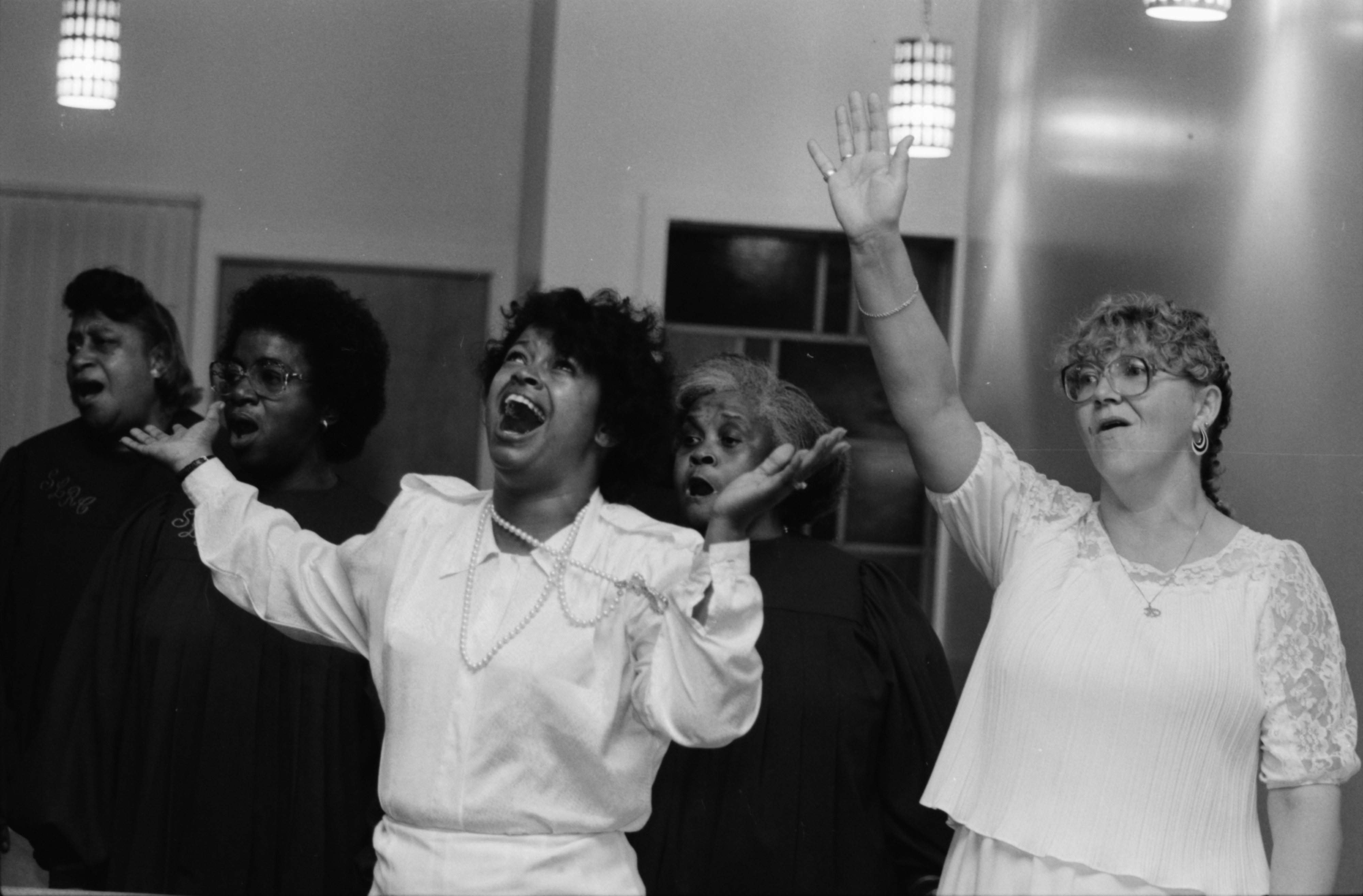 Gospel Songquake III held at Bethel AME Church, September 1989 image