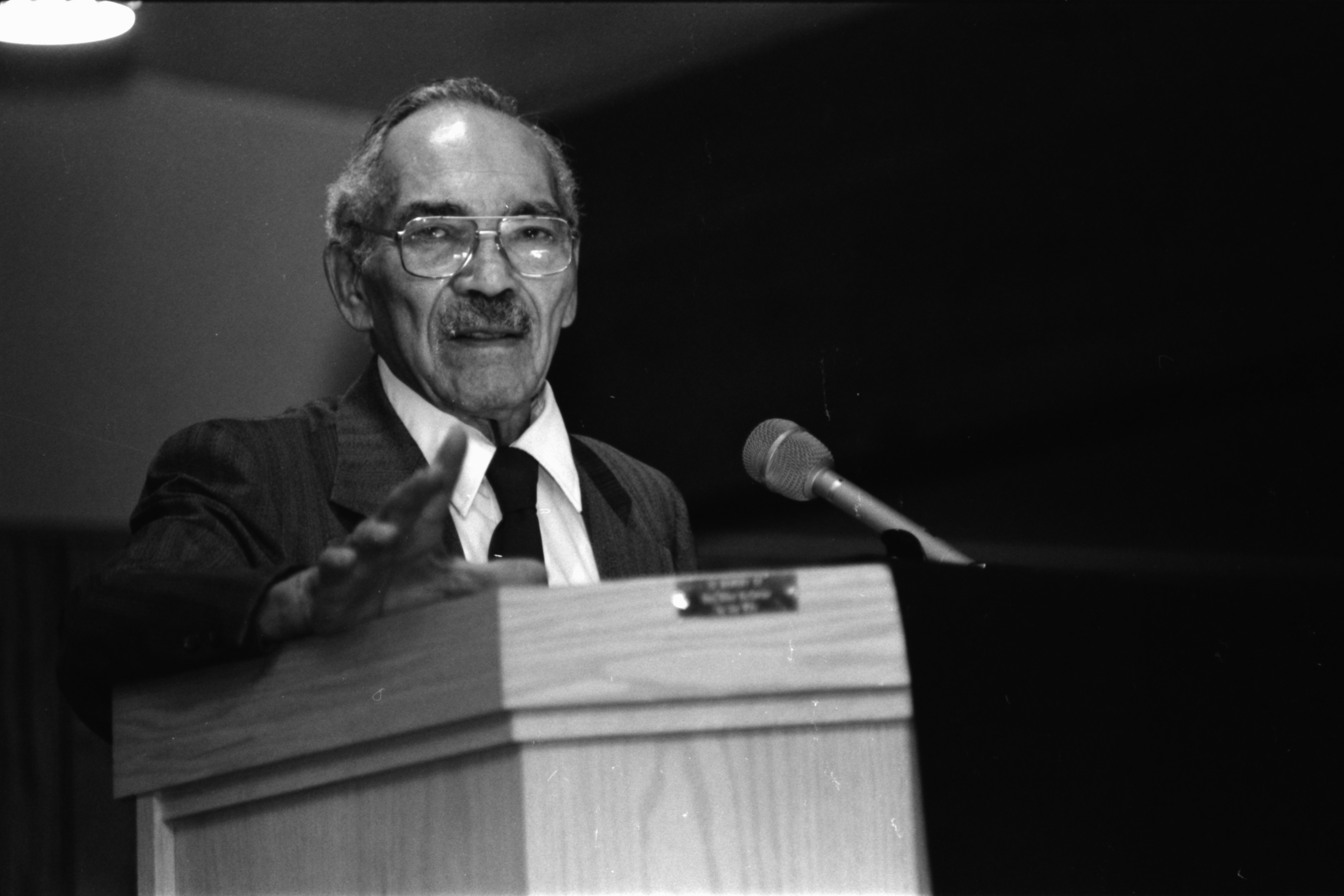 Albert H. Wheeler Speaks at Gospel Songquake III, September 1989 image