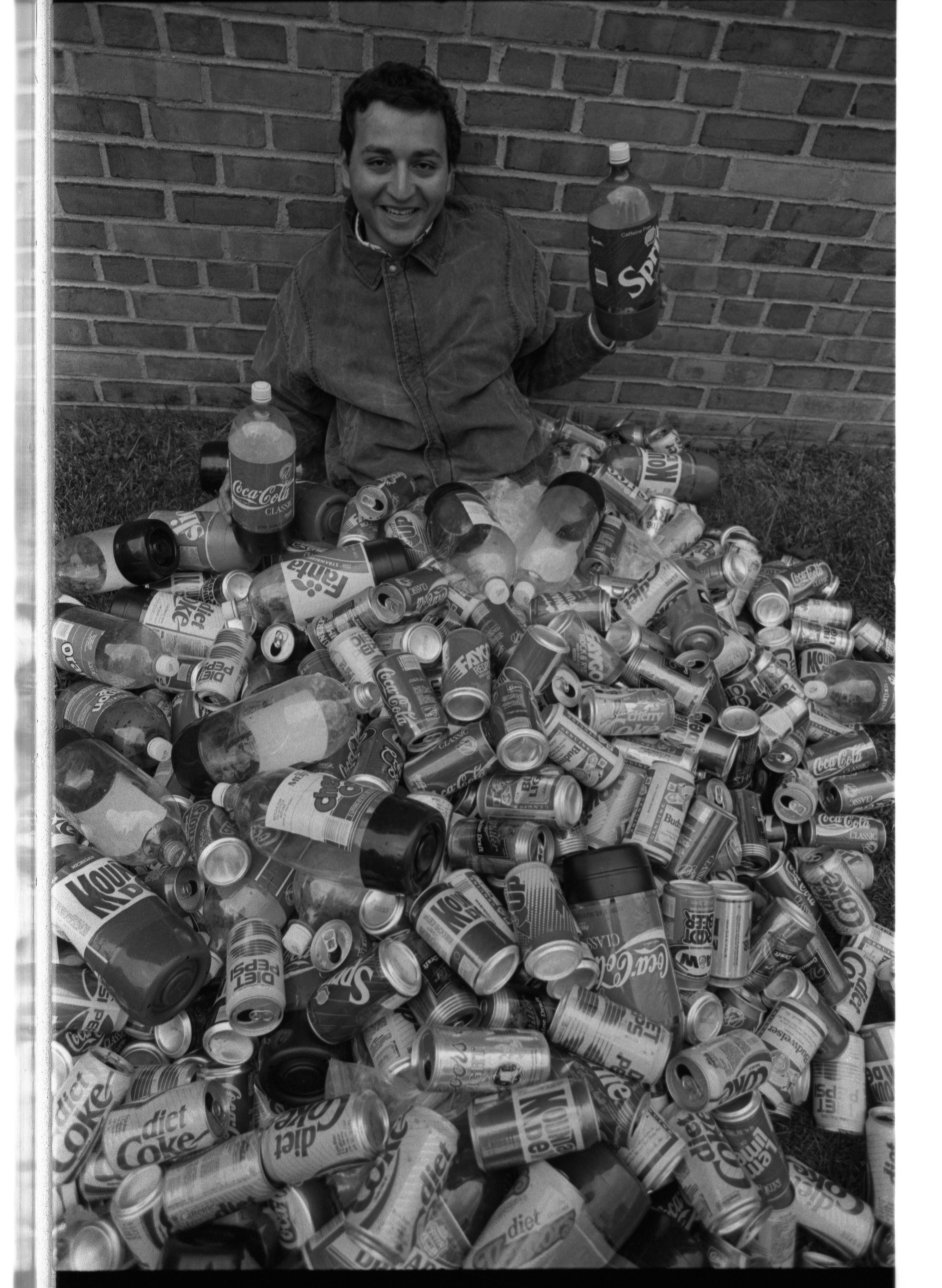 University of Michigan Student Peter Nicolas Raises Money for Homeless Services, November 1989 image