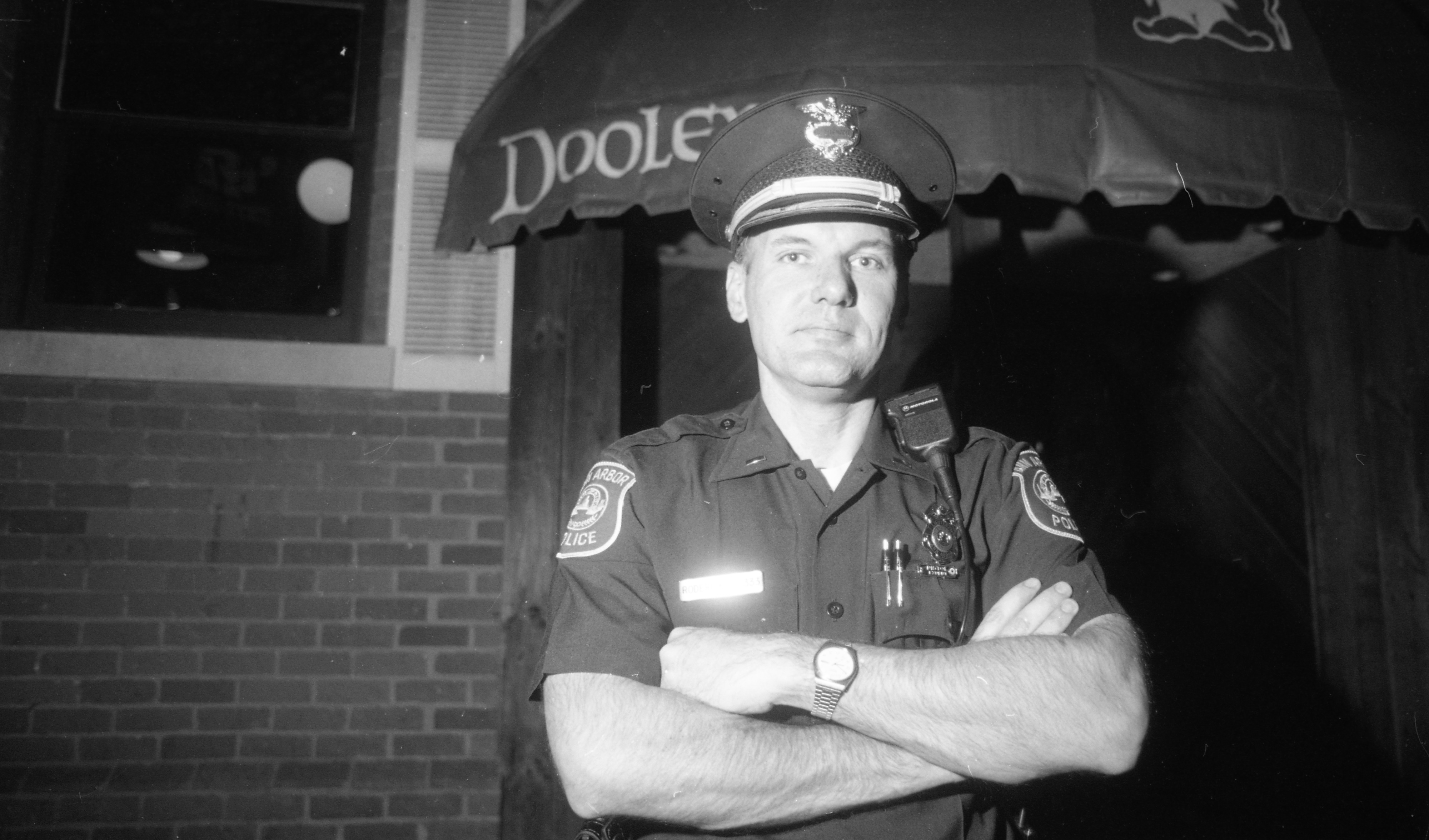 Lt. Craig Roderick of Ann Arbor Police Department Special Problems Unit, April 1990 image