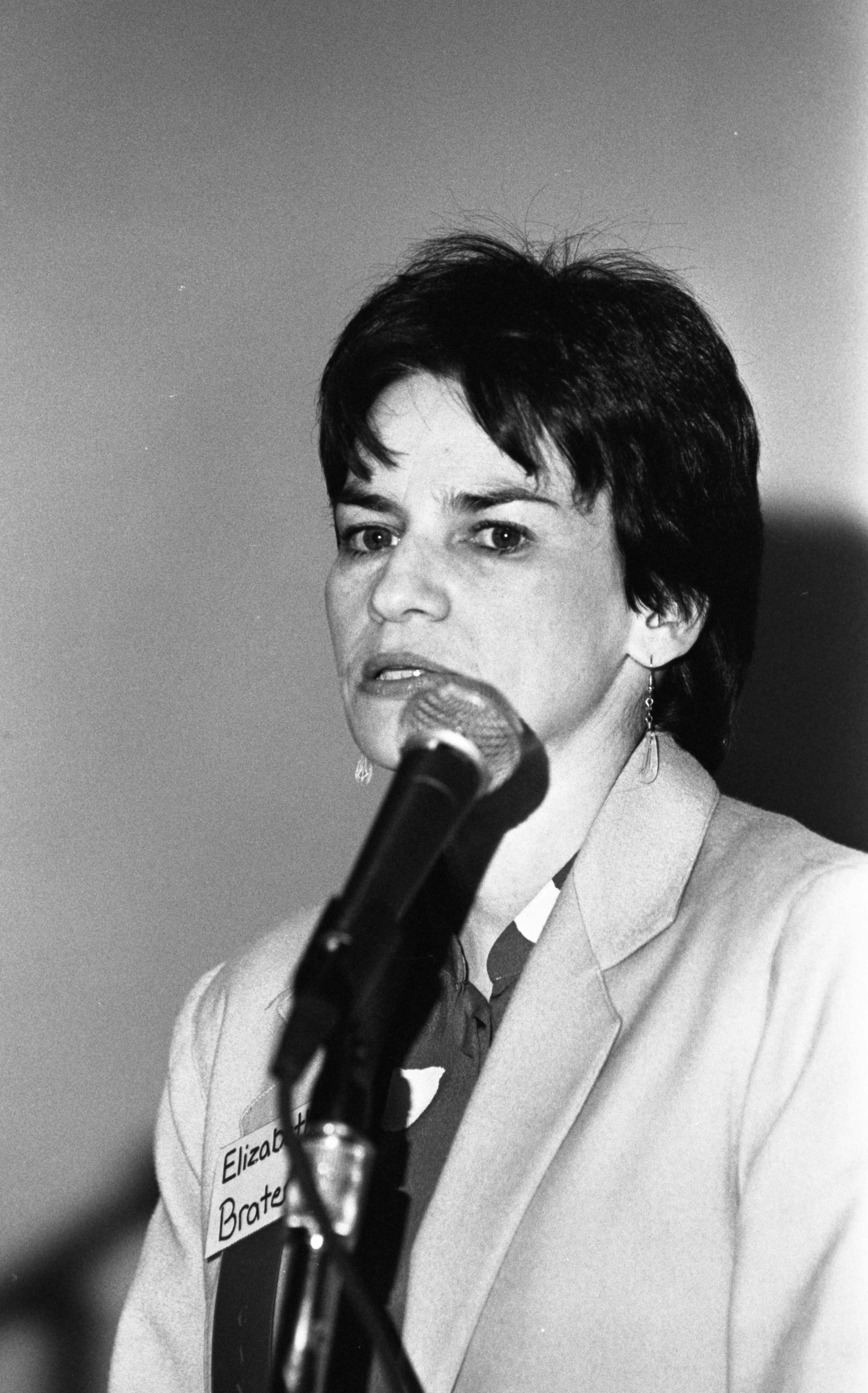 Ann Arbor Candidates- Elizabeth Brater, March 1990 image
