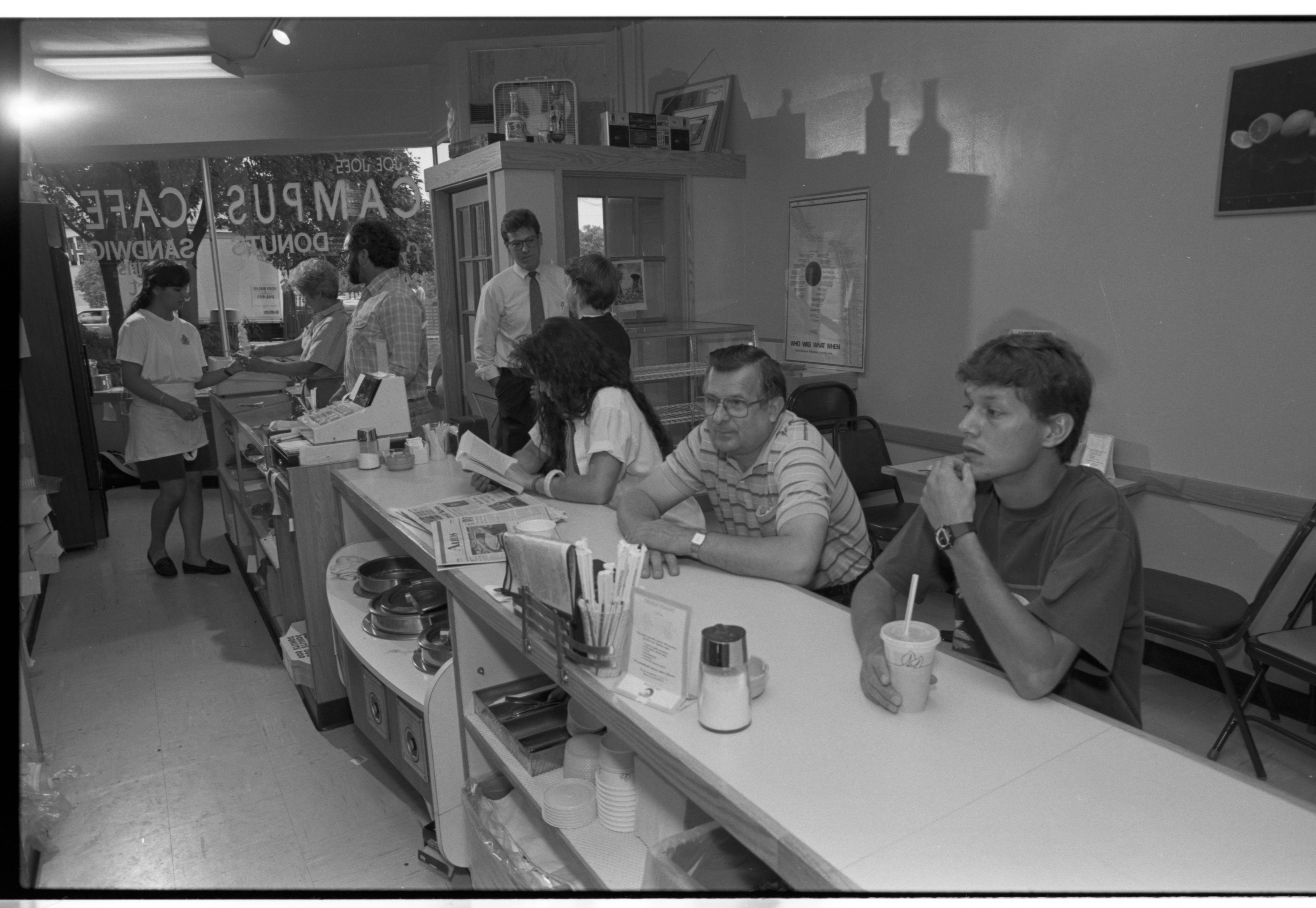 Joe Joe's Campus Cafe, July 1990 image