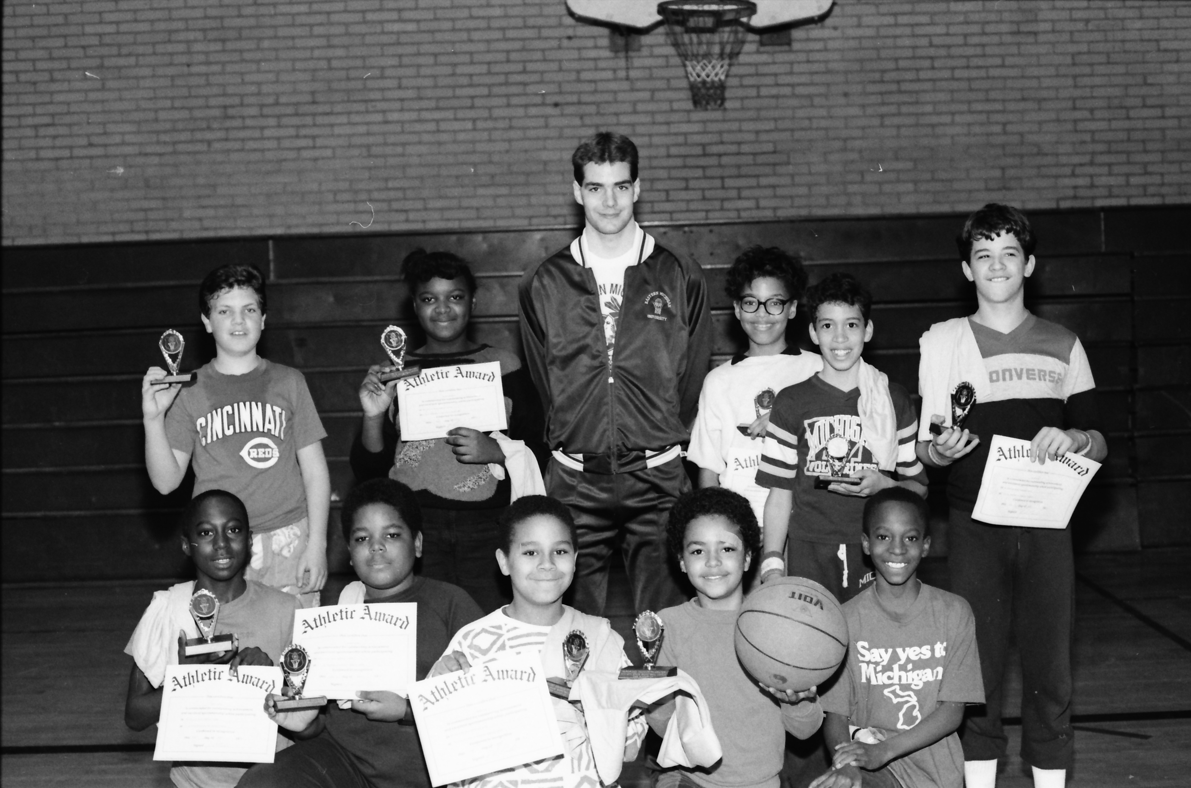 Parkridge Basketball League Awards, March 1988 image