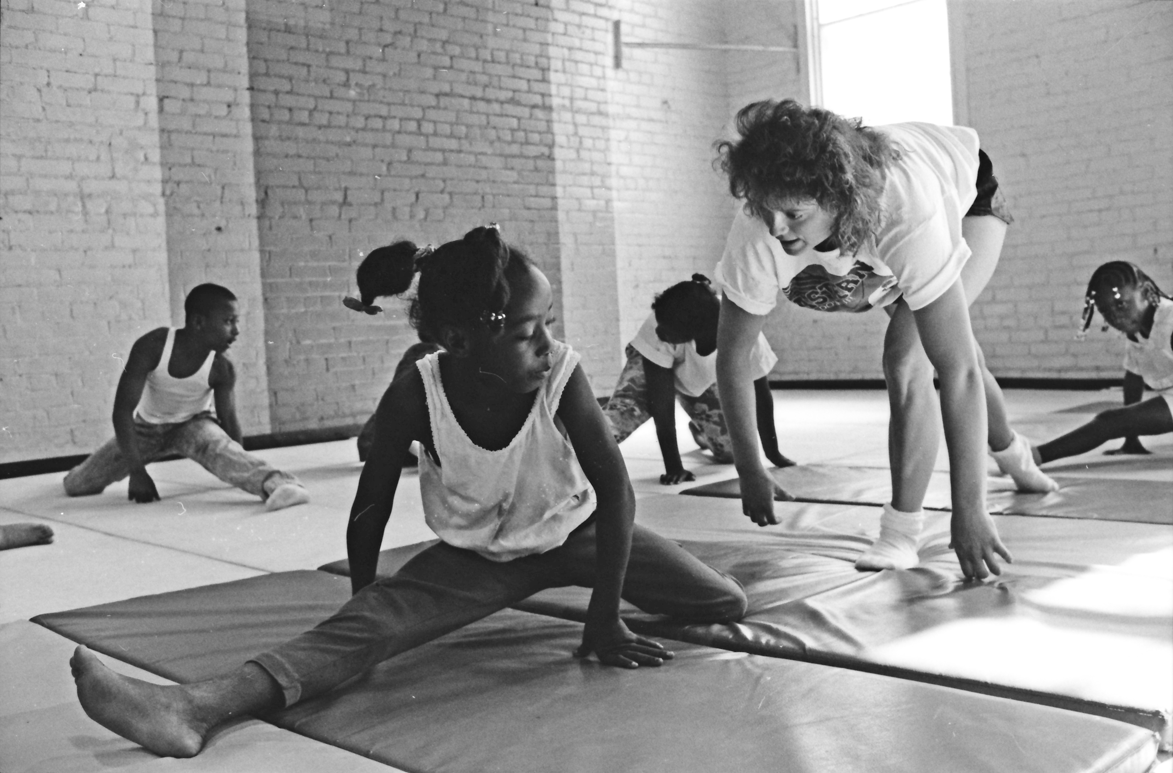 Preparation for Gymnastics Class, June 1991 image