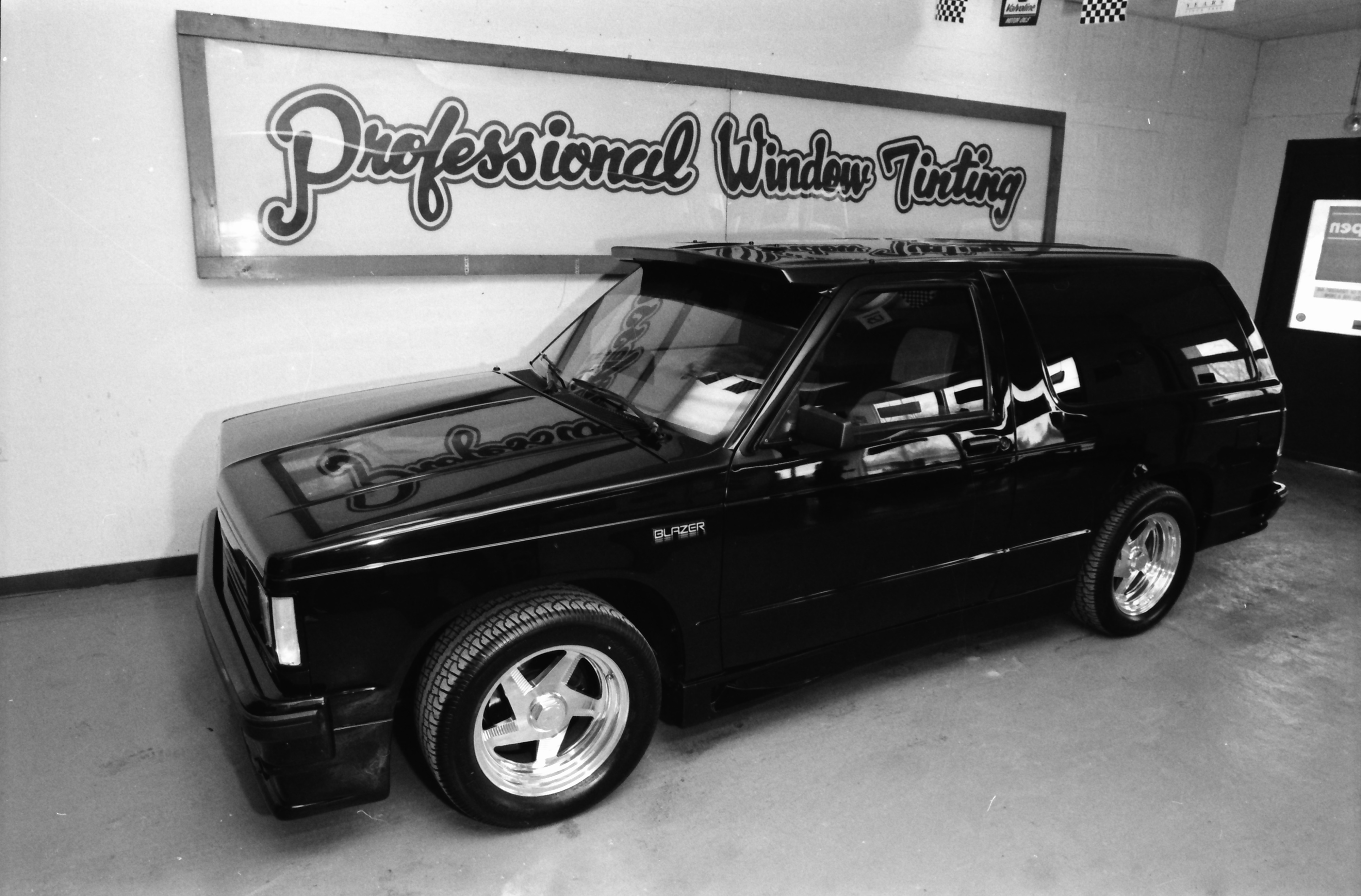 Professional Window Tinting Advertisement, February 1992 image