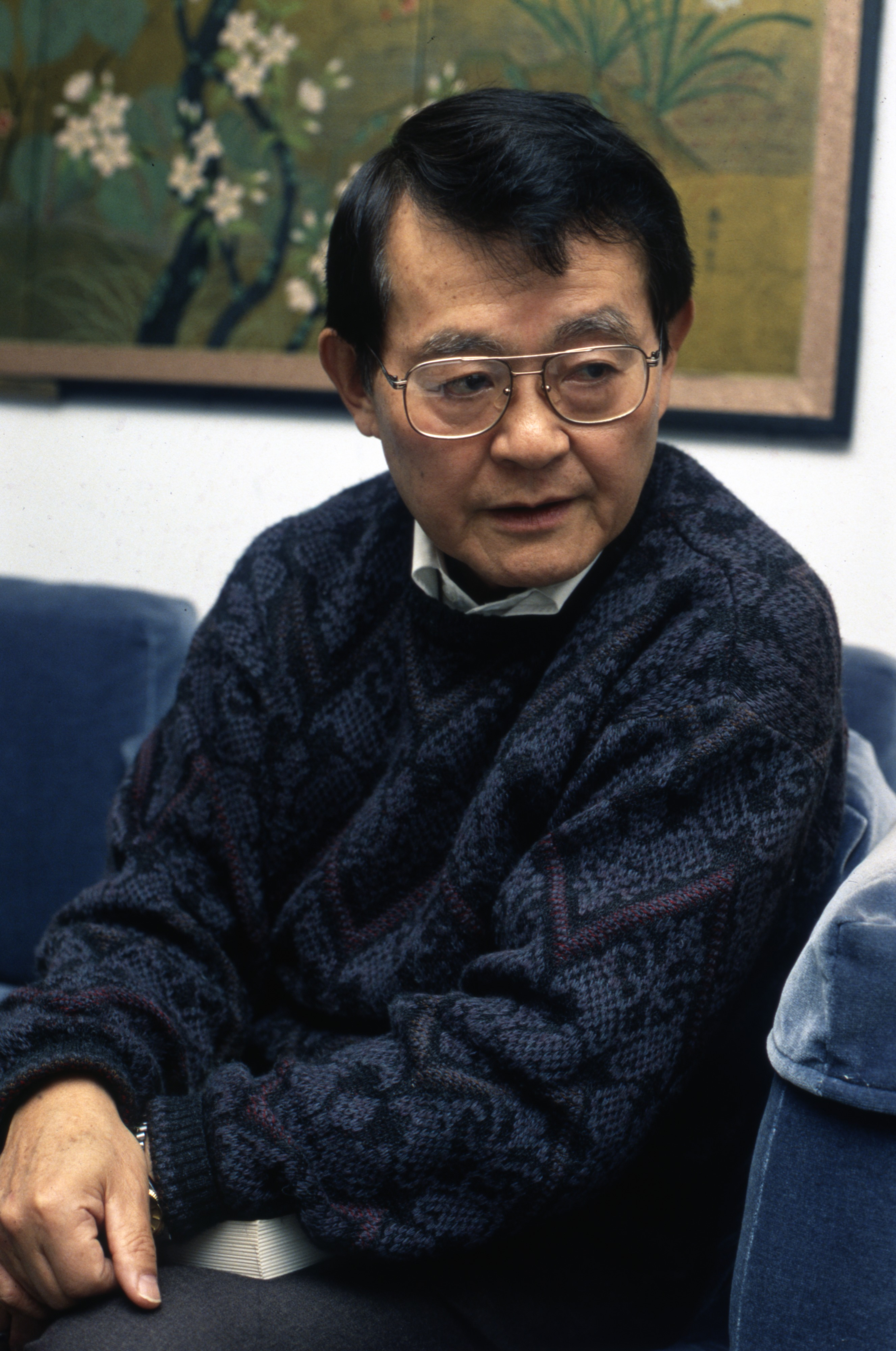Dr. Yuzuru Takeshita, Professor at U-M & Japanese Internment Camp Survivor, December 8, 1991 image