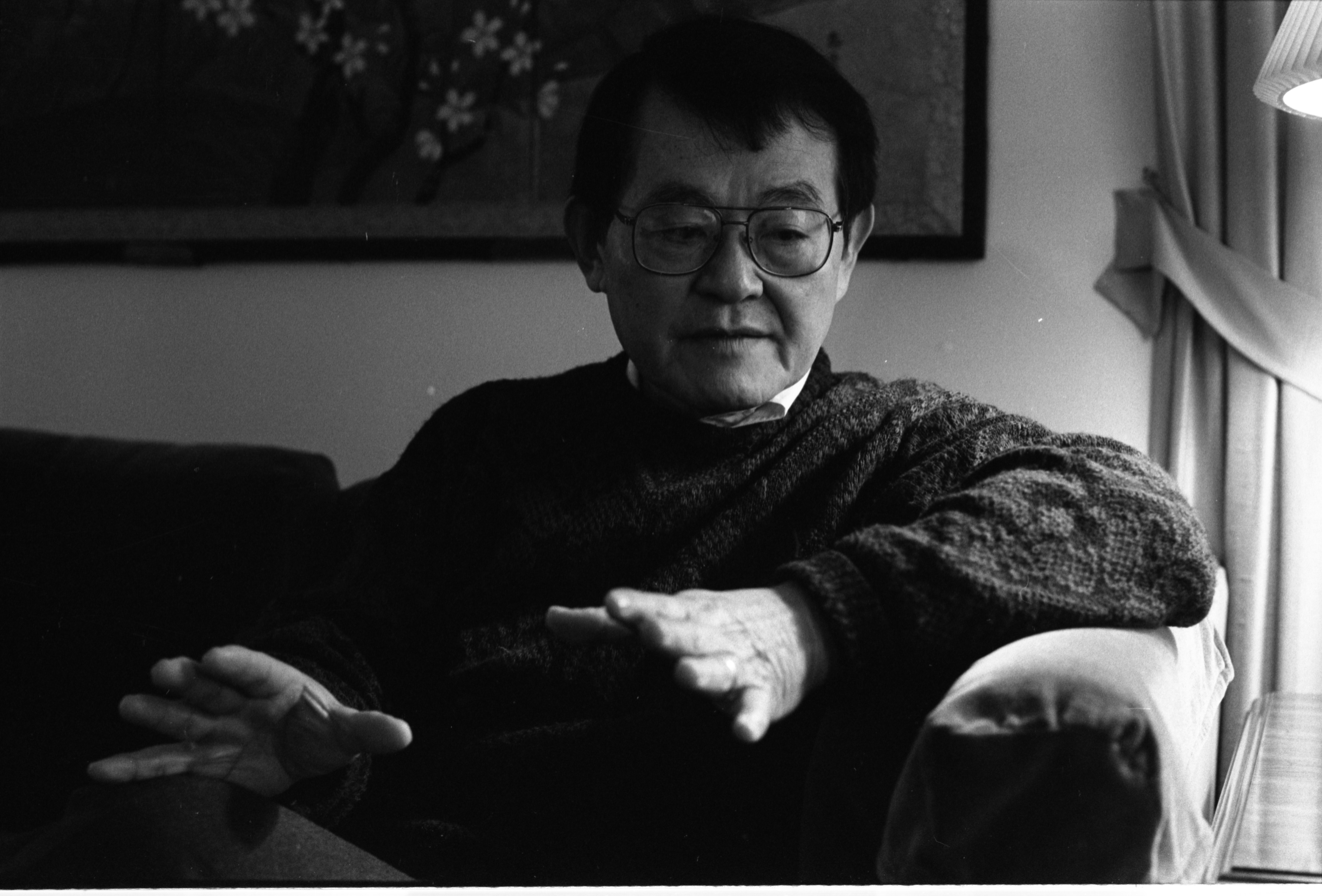 Dr. Yuzuru Takeshita, Professor at U-M & Japanese Internment Camp Survivor, Talks About His Experiences, December 8, 1991 image