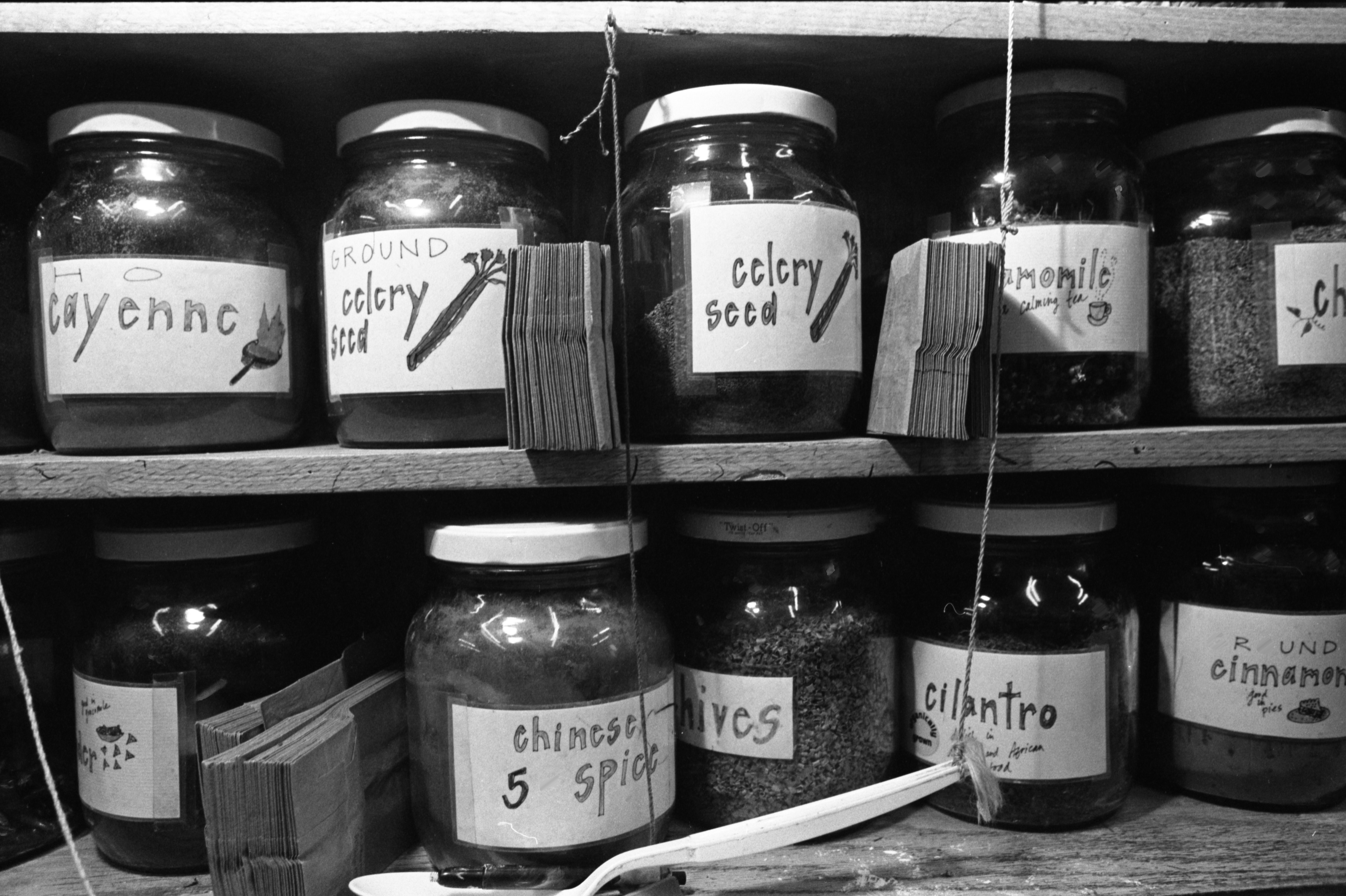 Various Spices Sold At The People's Food Co-op, September 22, 1991 image