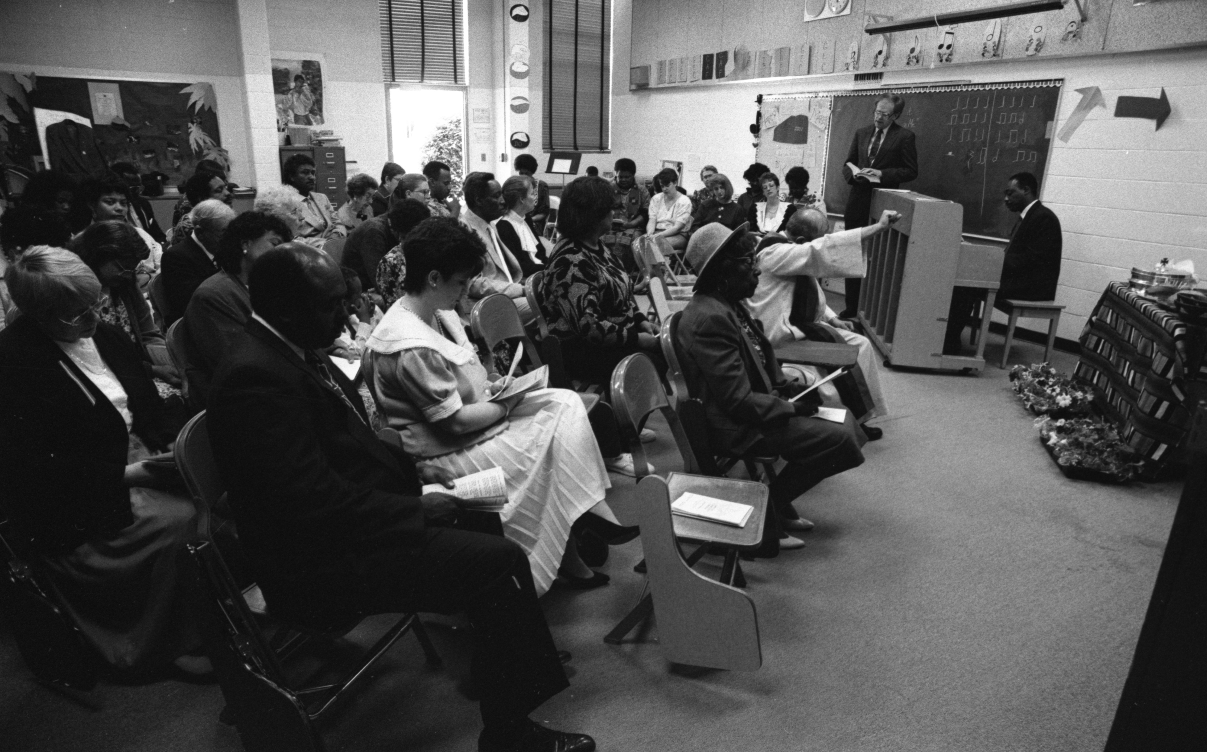 The First Service Of Amistad Community Church, May 1991 image
