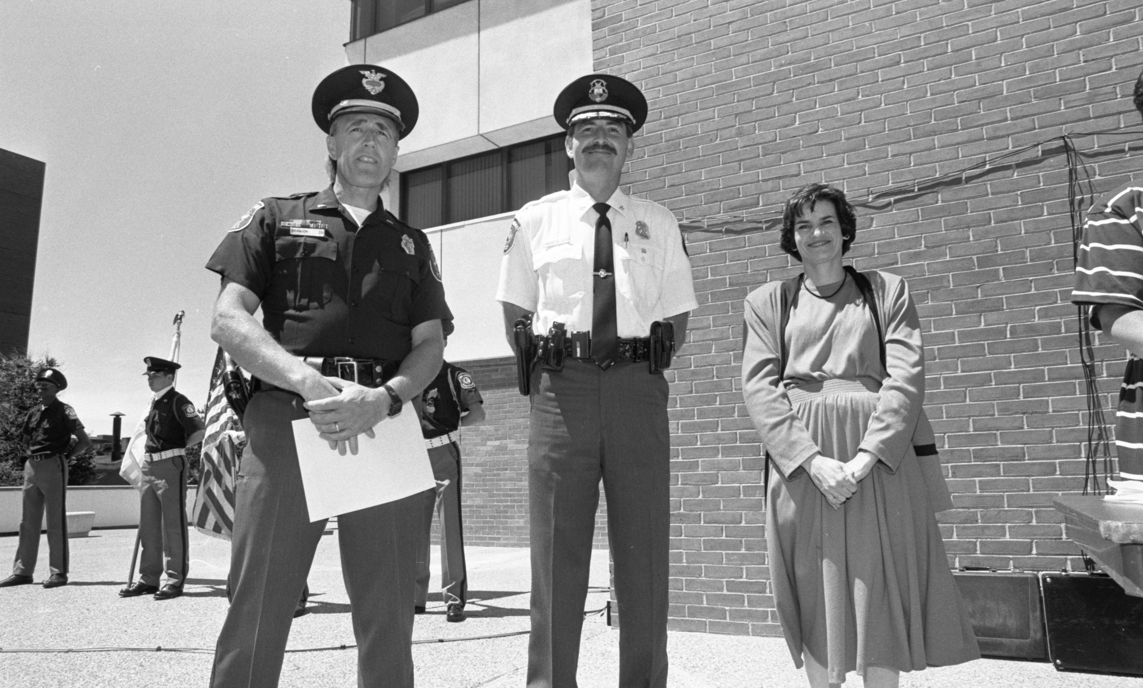 Lt. Dan Branson Honored At Ann Arbor Police Department Awards Ceremony, June 1991 image