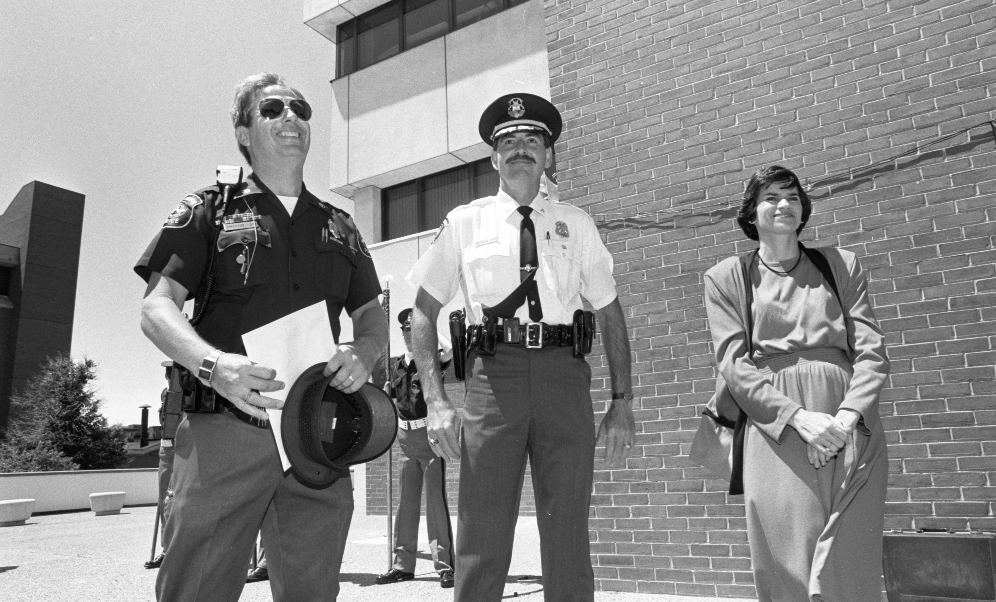 Sergeant Harry Jinkerson Honored At Ann Arbor Police Department Awards Ceremony, June 1991 image