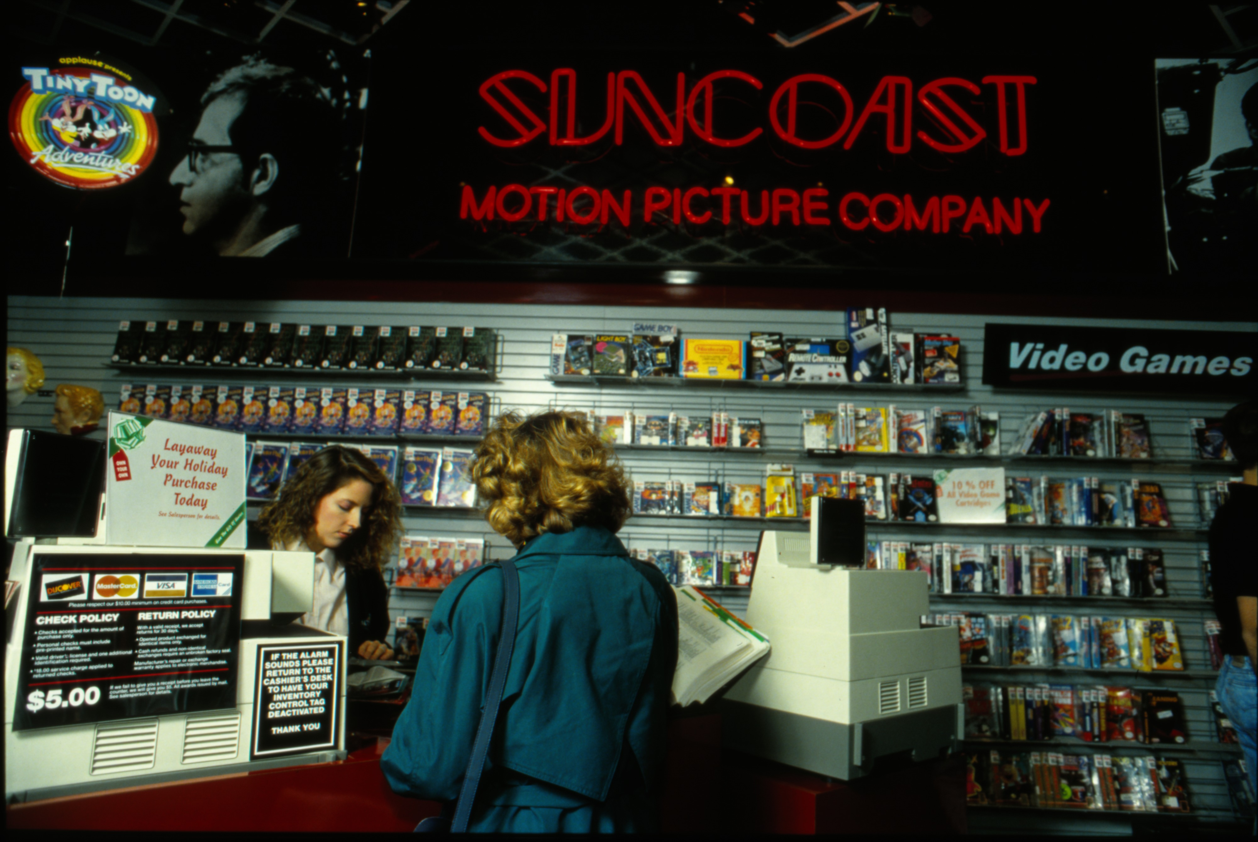 Suncoast Motion Picture Company, Briarwood Mall, November 1990 image