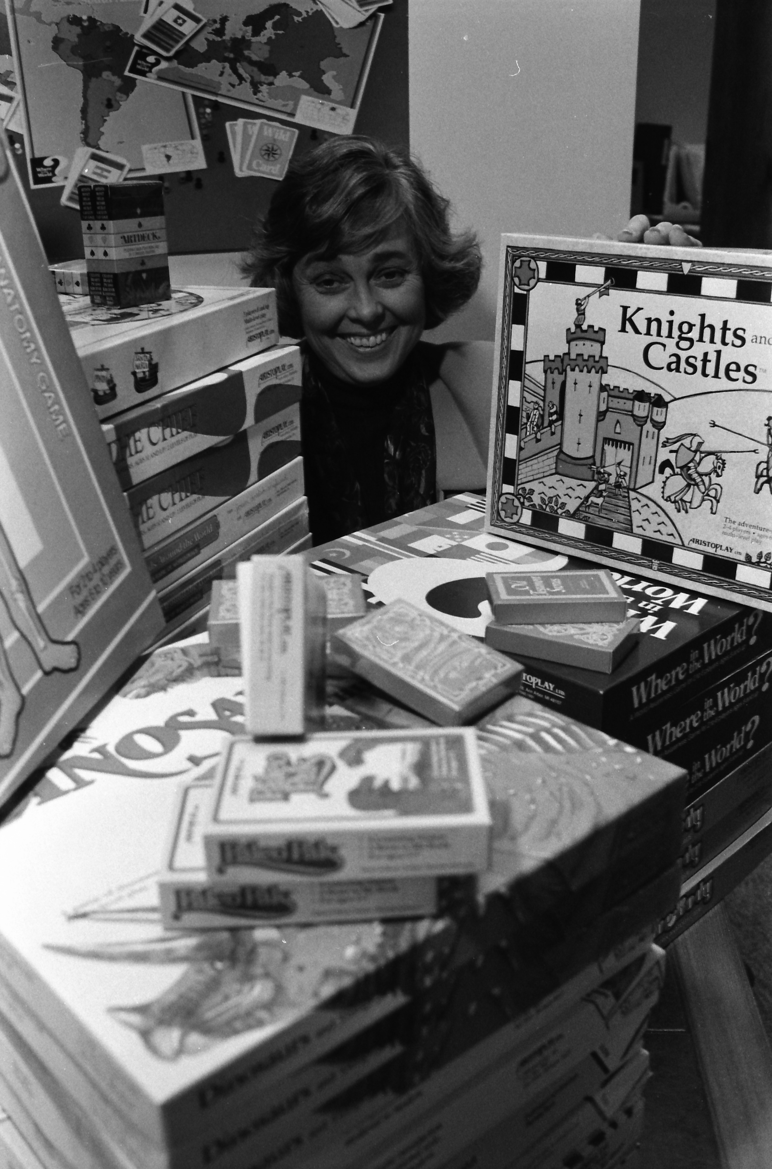 Jan Newman and her Games, February 1992 image