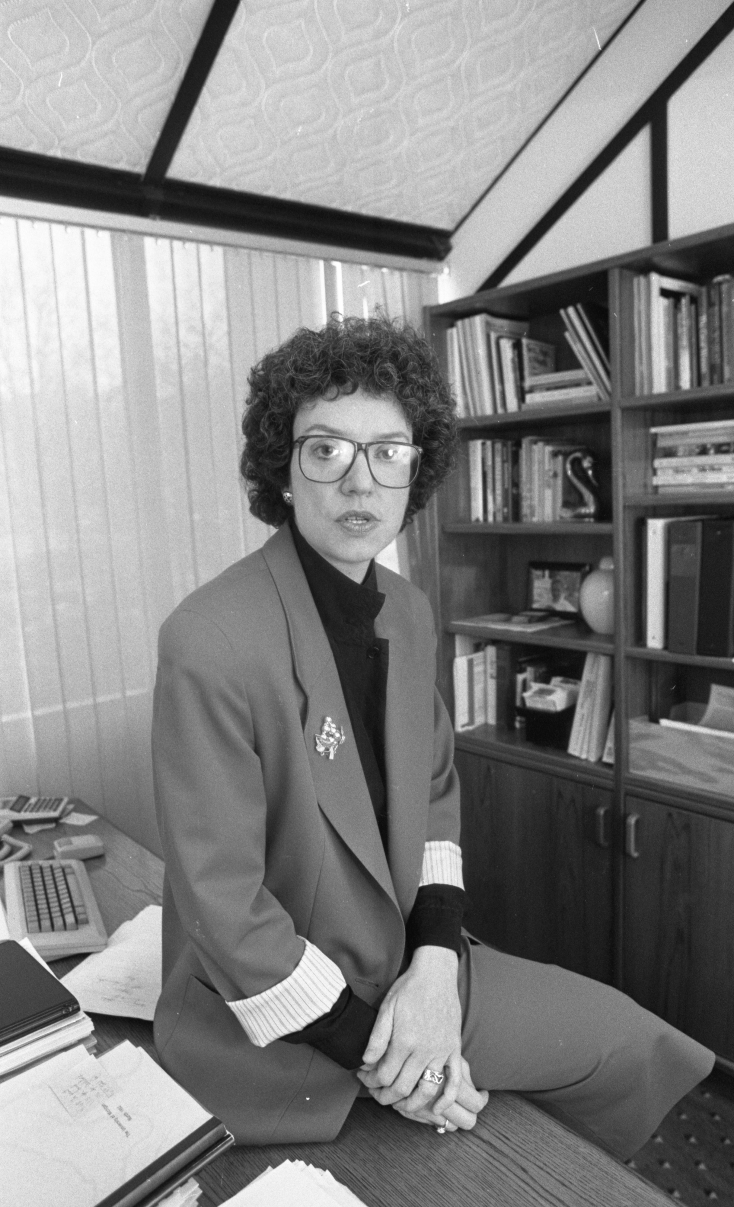Carol S. Hollenshead - Director Of Center For The Education Of Women, April 1992 image