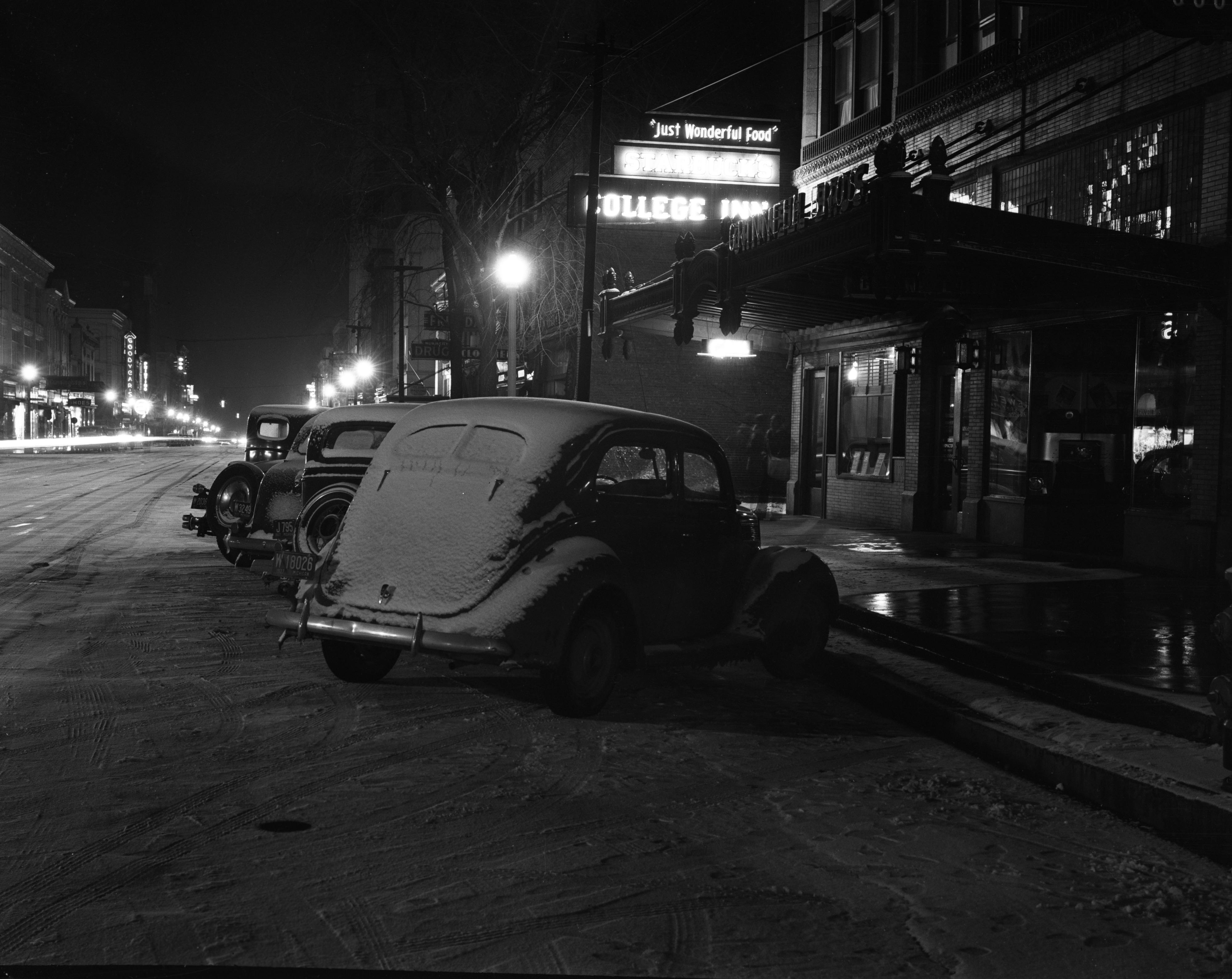 First Snow in Ann Arbor, November 1937 image