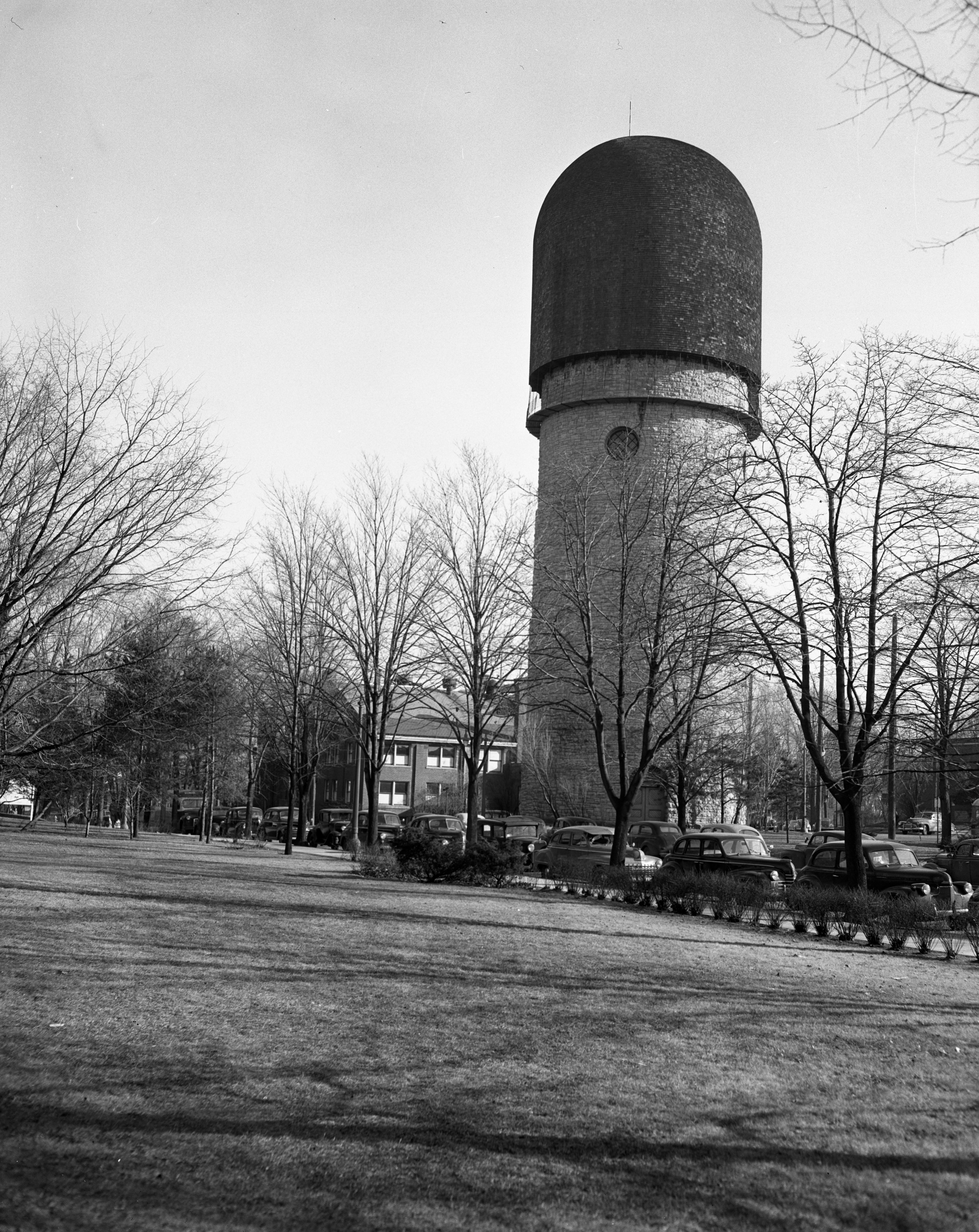 Ypsilanti Water Tower, January 1949 image