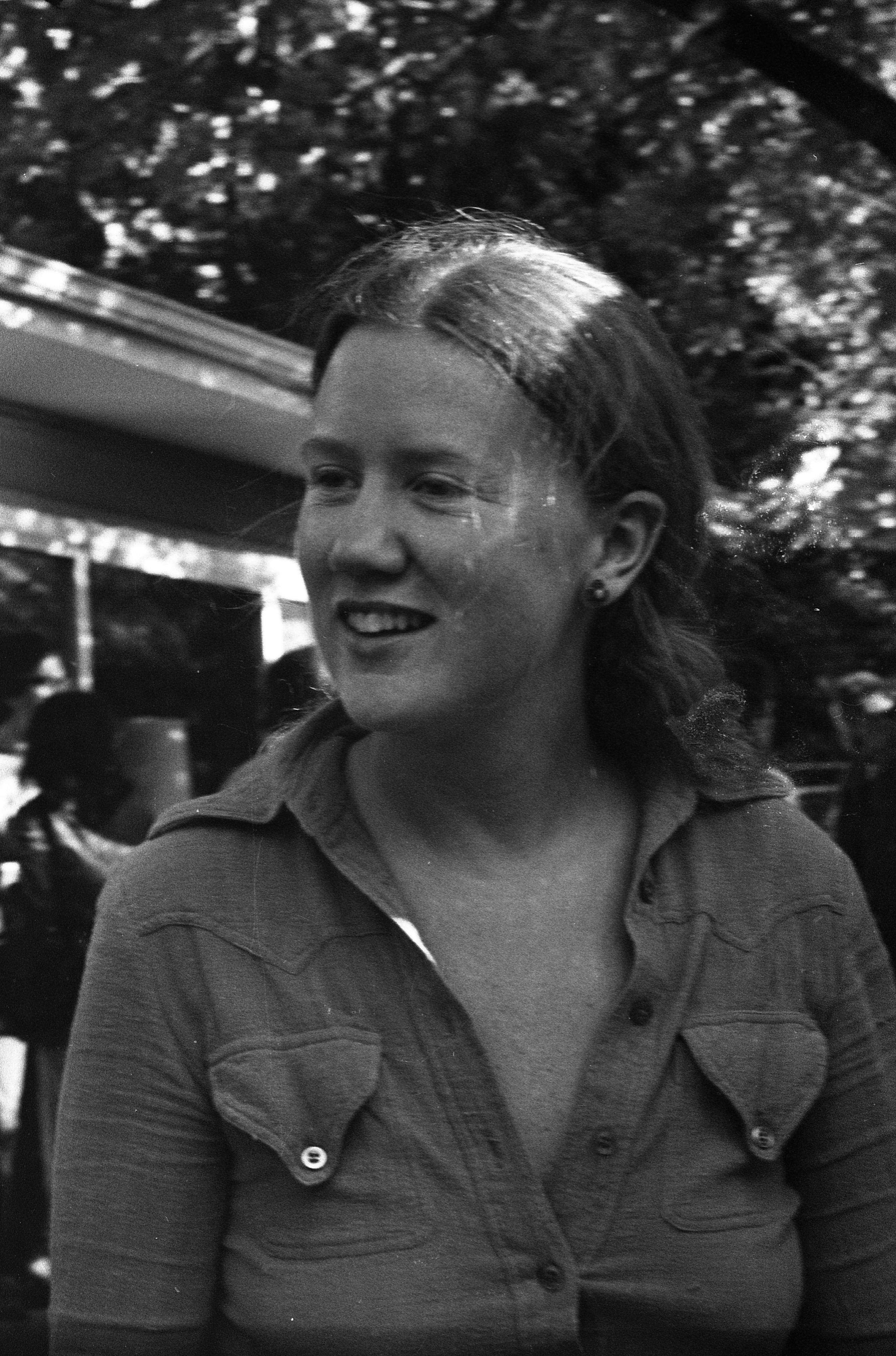 Holly Near At Dr. Edward Pierce's House For Fundraiser, October 1974 image