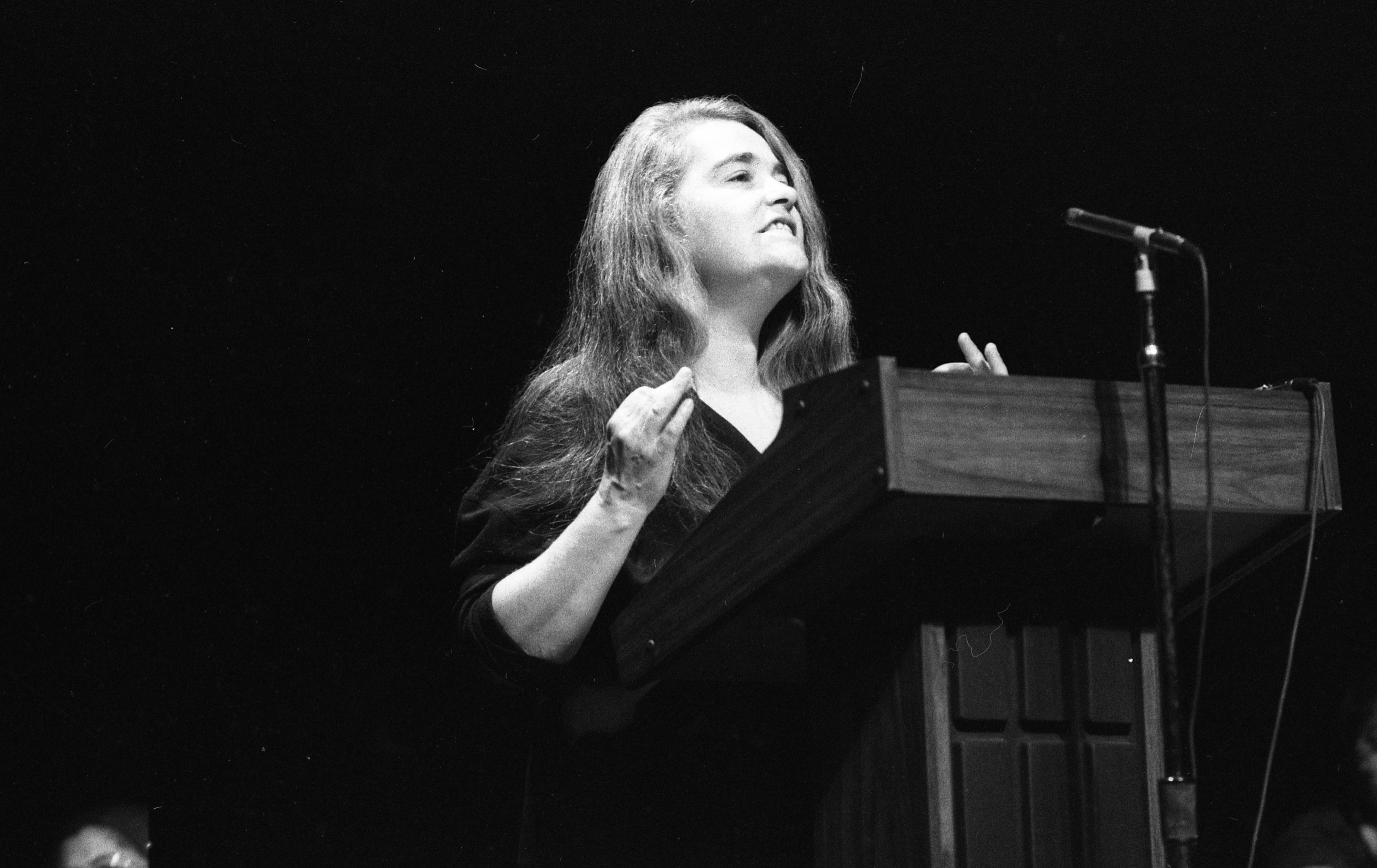 Kate Millett Speaks At The Power Center, October 13, 1982 image