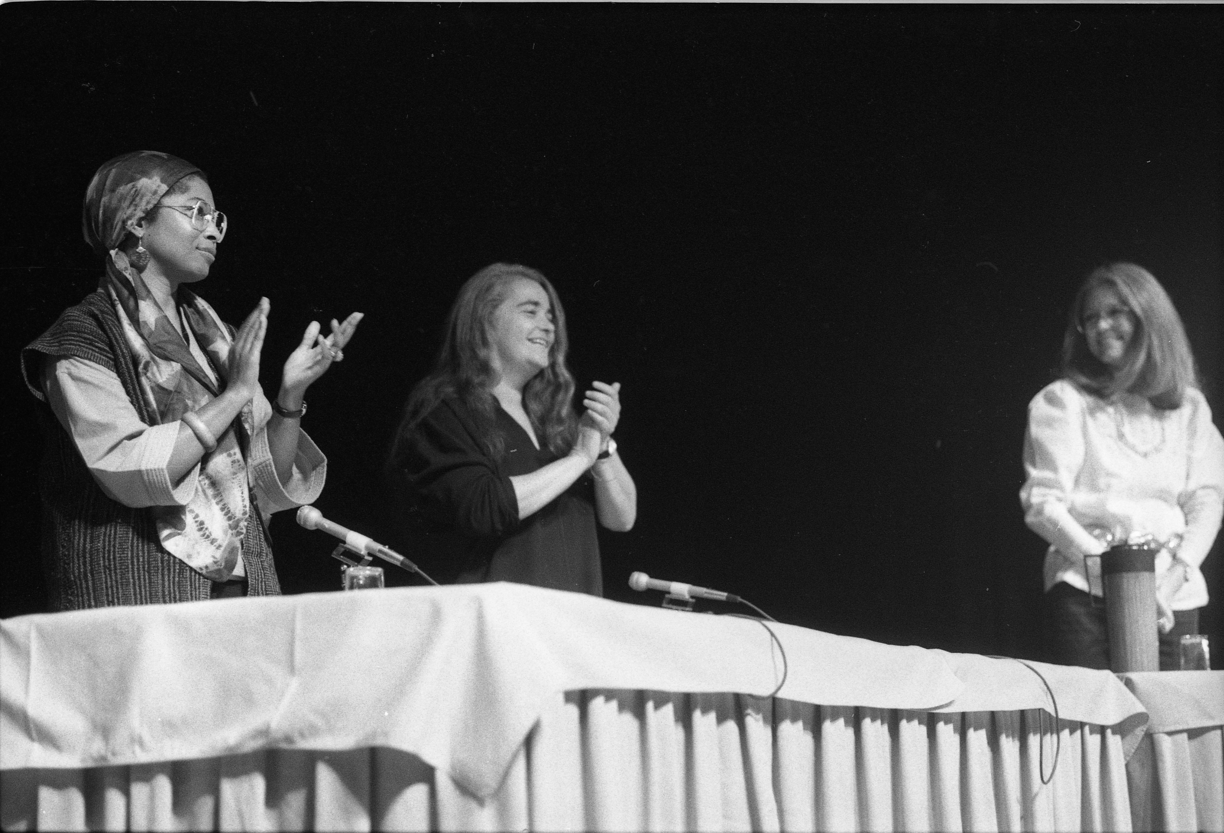 Alice Walker, Kate Millett, & Gloria Steinem At The Power Center, October 13, 1982 image