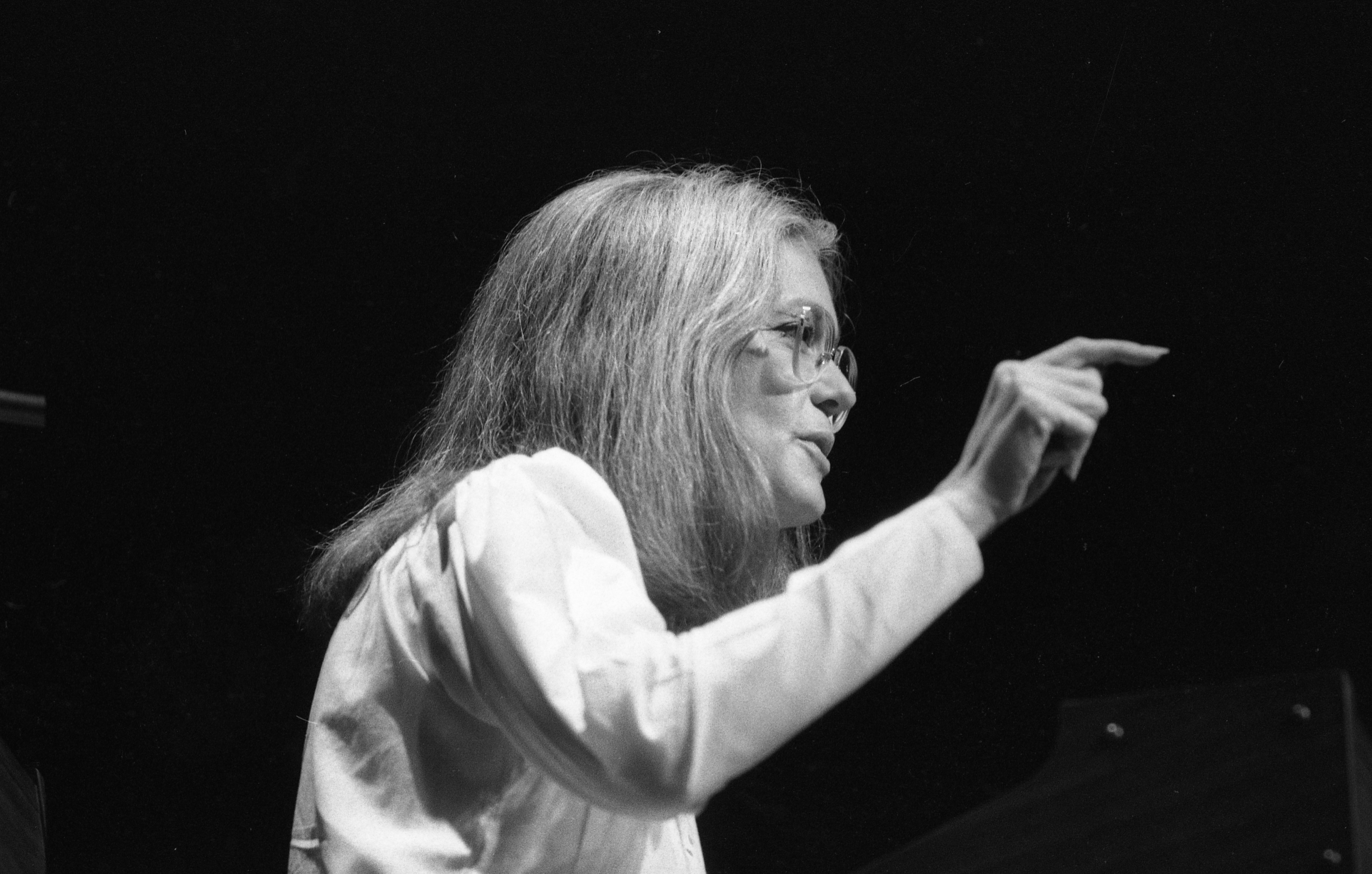 Gloria Steinem Speaks At The Power Center, October 13, 1982 image