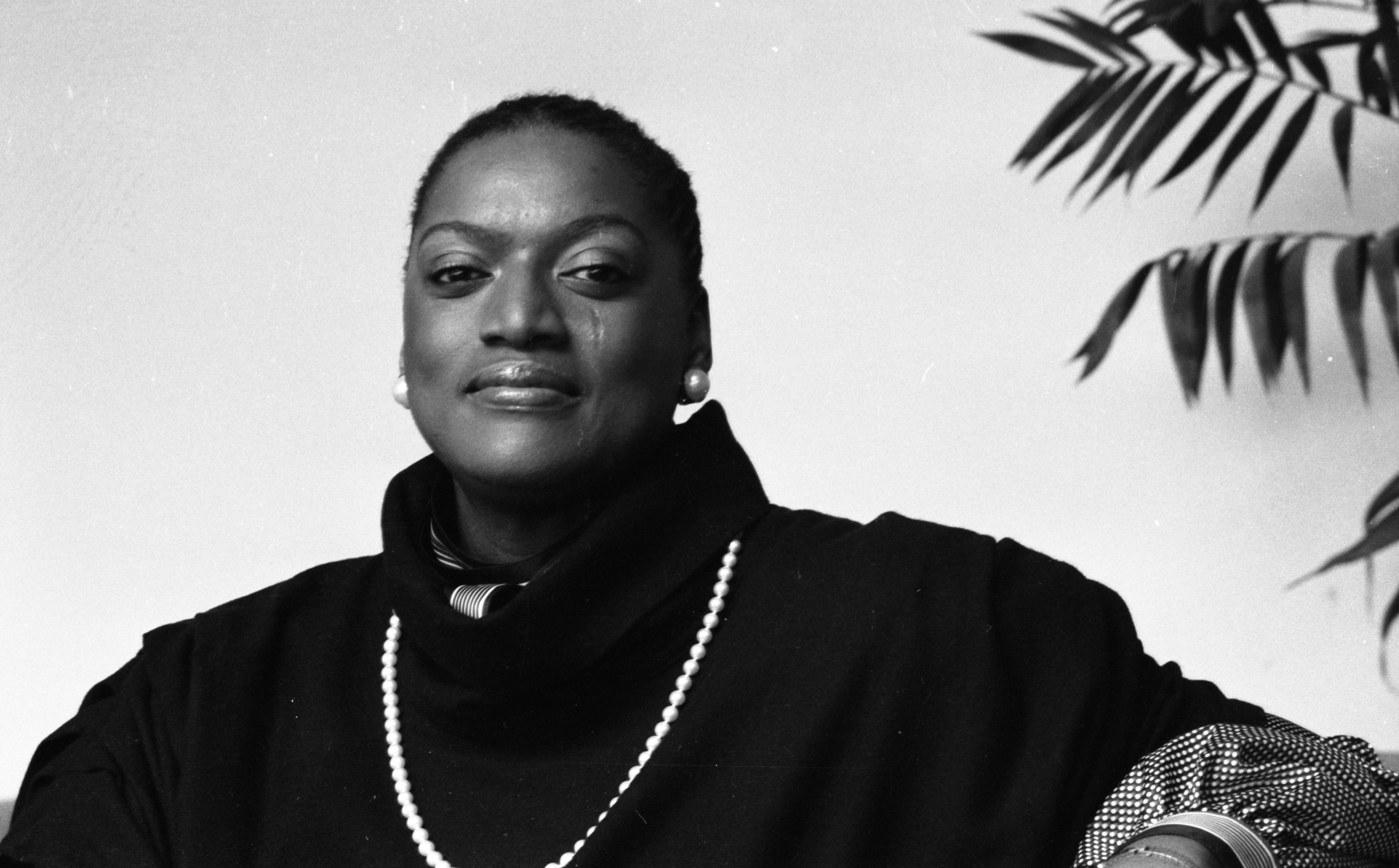 Jessye Norman at the University of Michigan School of Music, October 1983 image