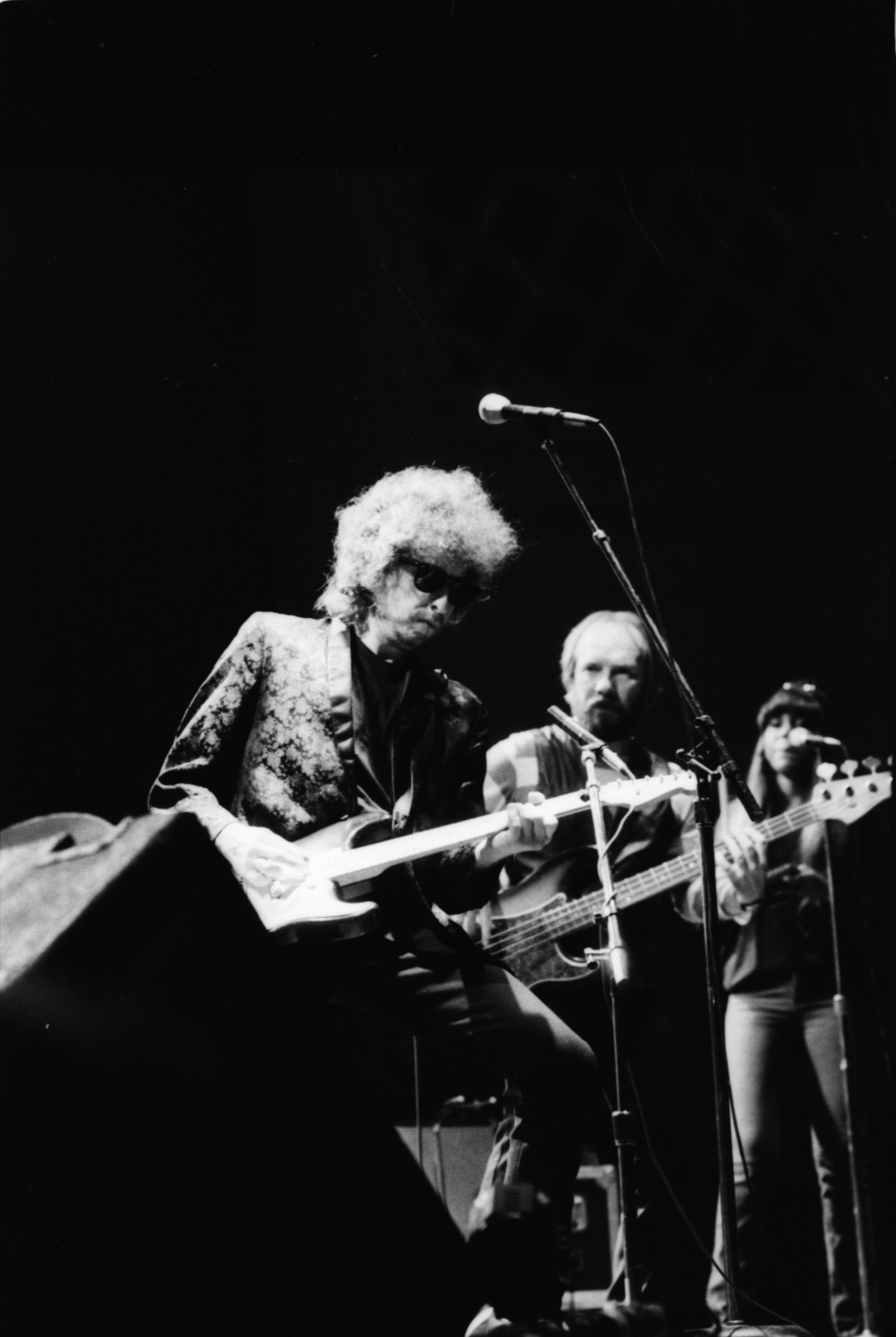Bob Dylan at Hill Auditorium, November 1981 image