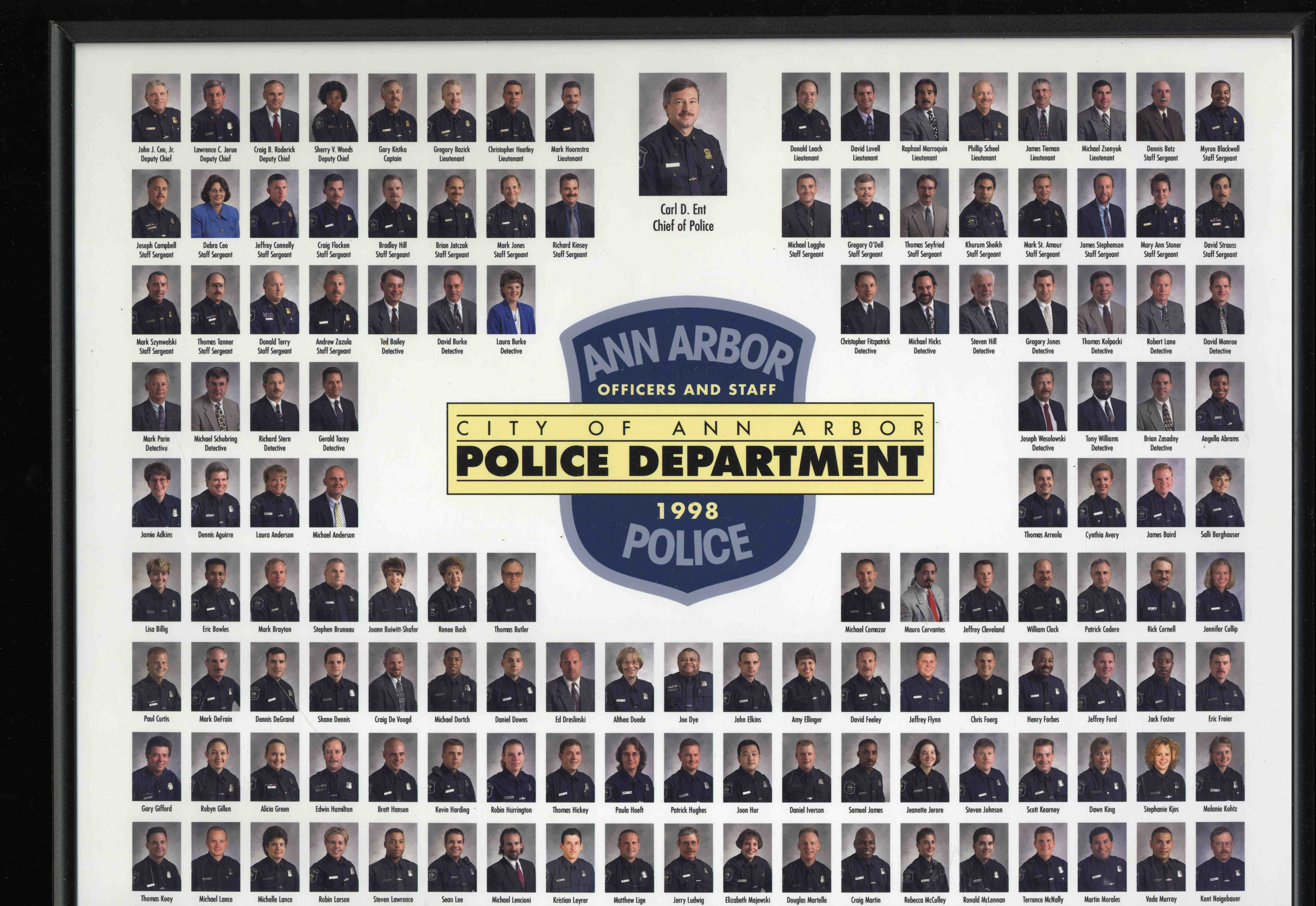 1998 Ann Arbor Police Department Photo image