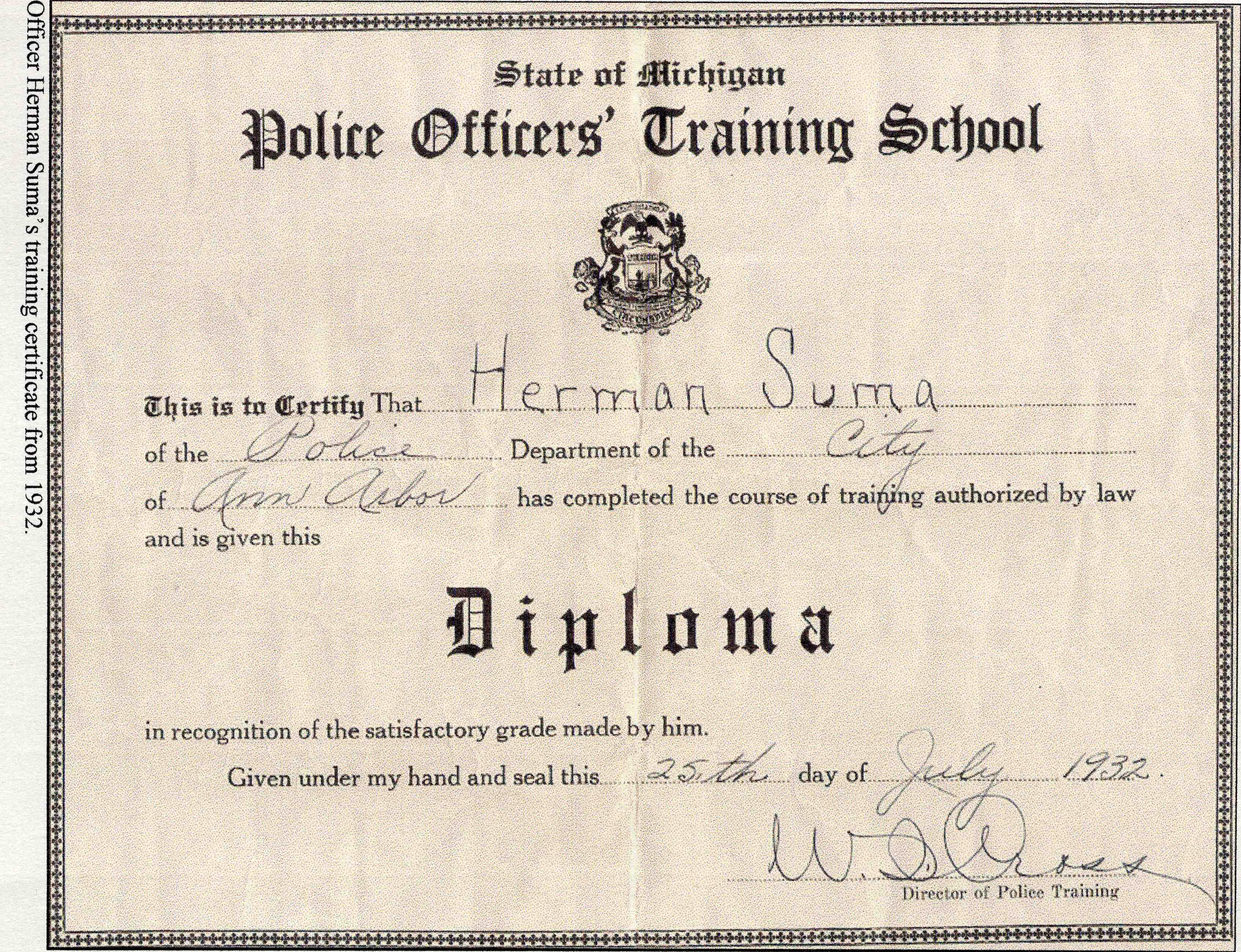Ann arbor police department officer herman sumas training ann arbor police department officer herman sumas training certificate image xflitez Choice Image