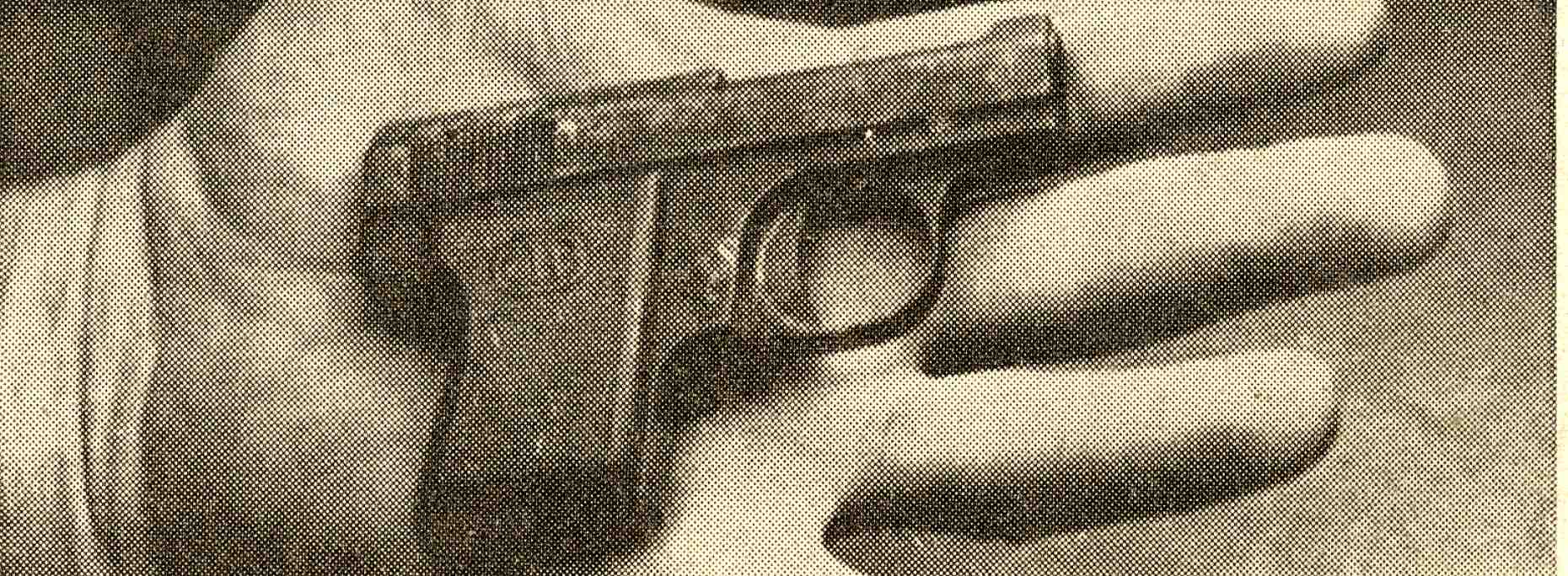 Pistol That Killed Margaret Phillips, 1969 image